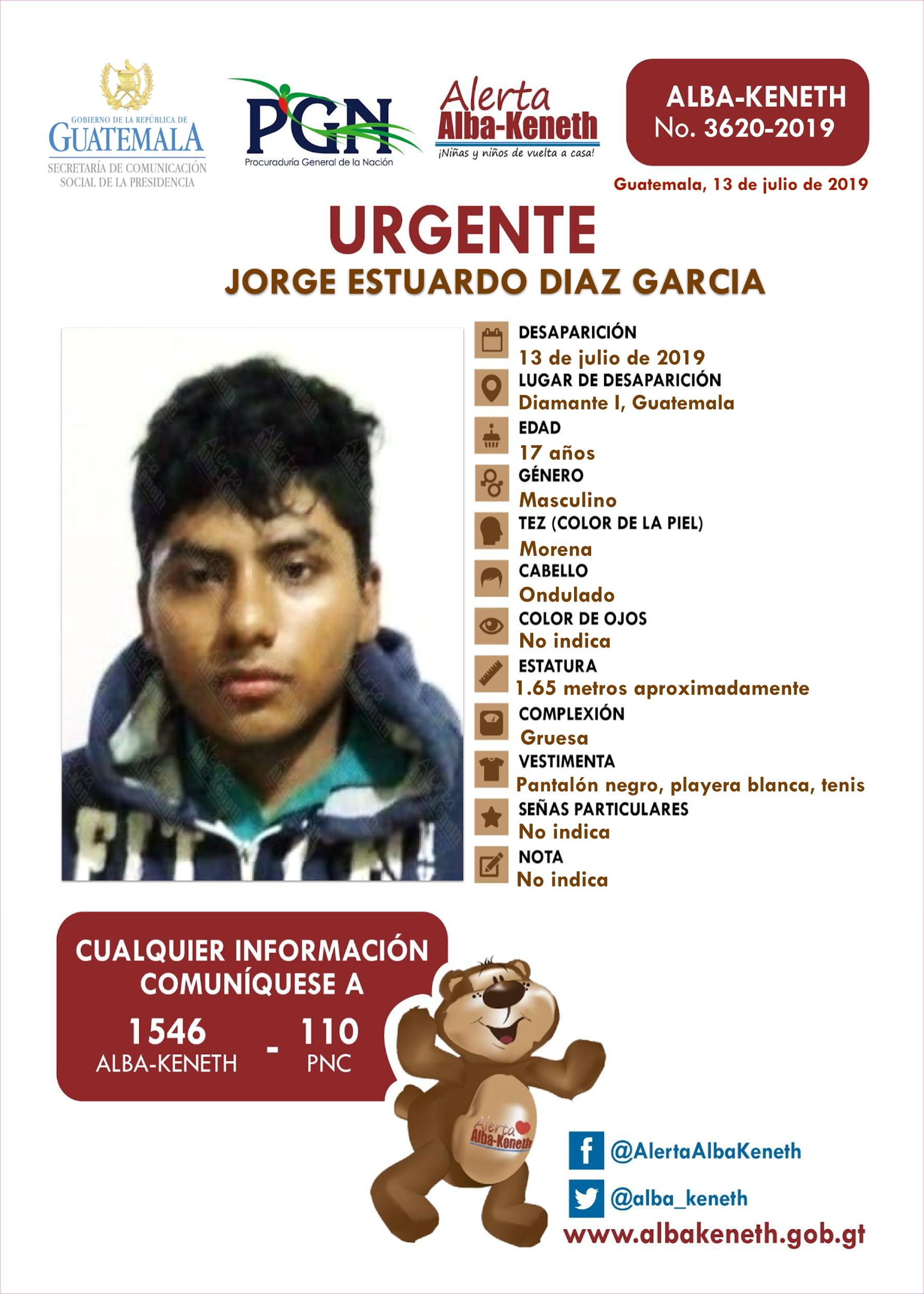 Jorge Estuardo Diaz Garcia