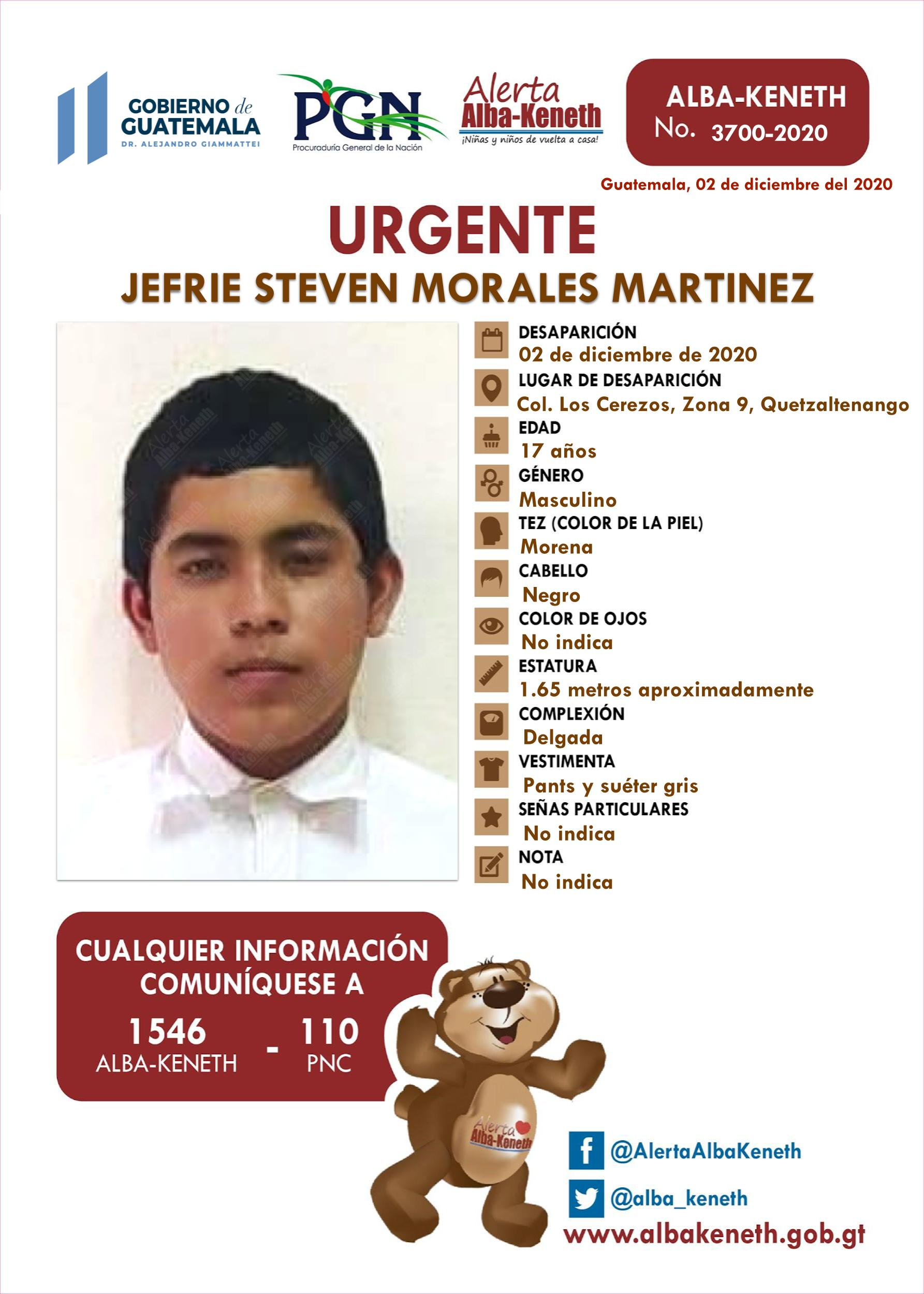 Jefrie Seven Morales Martinez