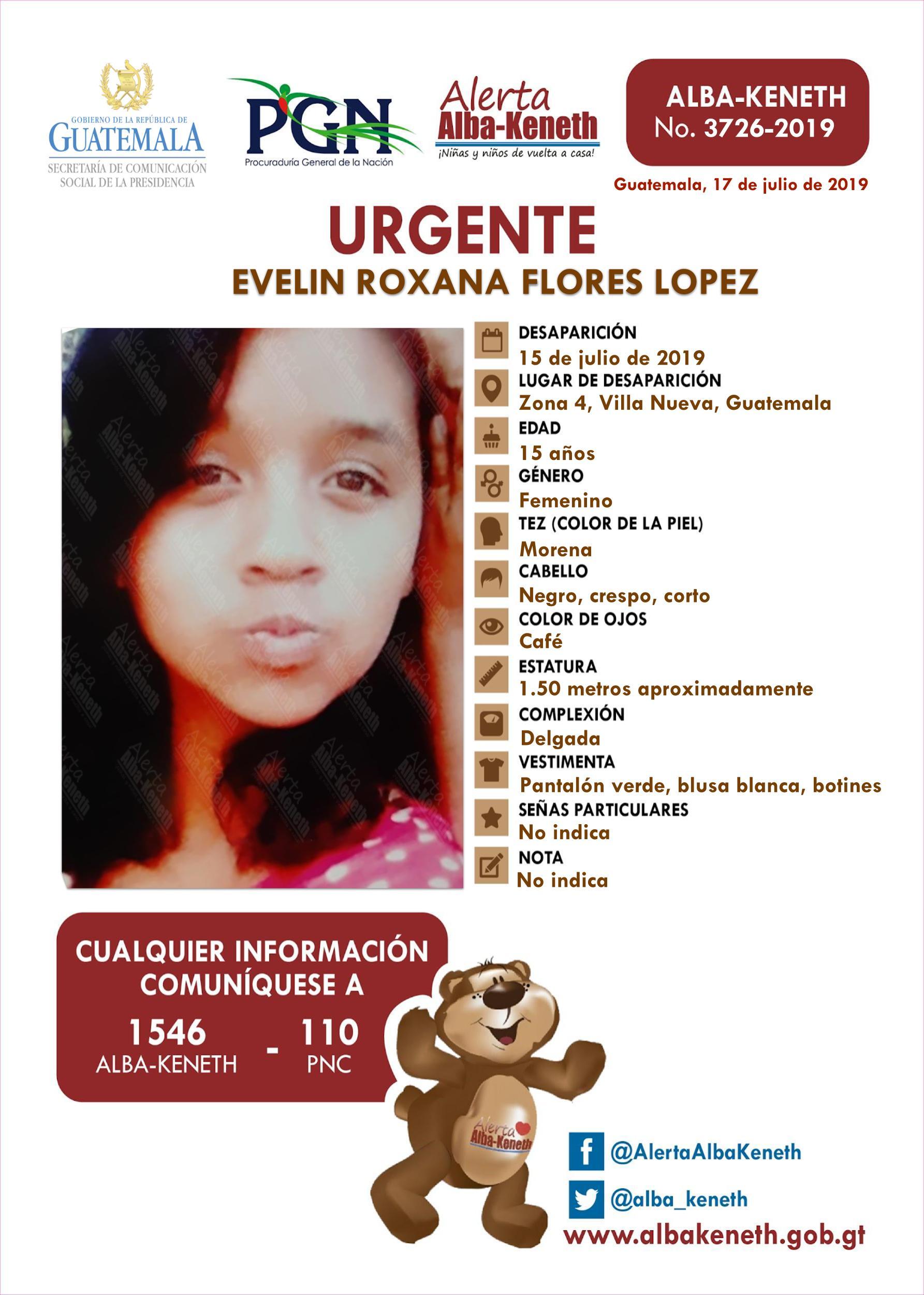 Evelin Roxana Flores Lopez
