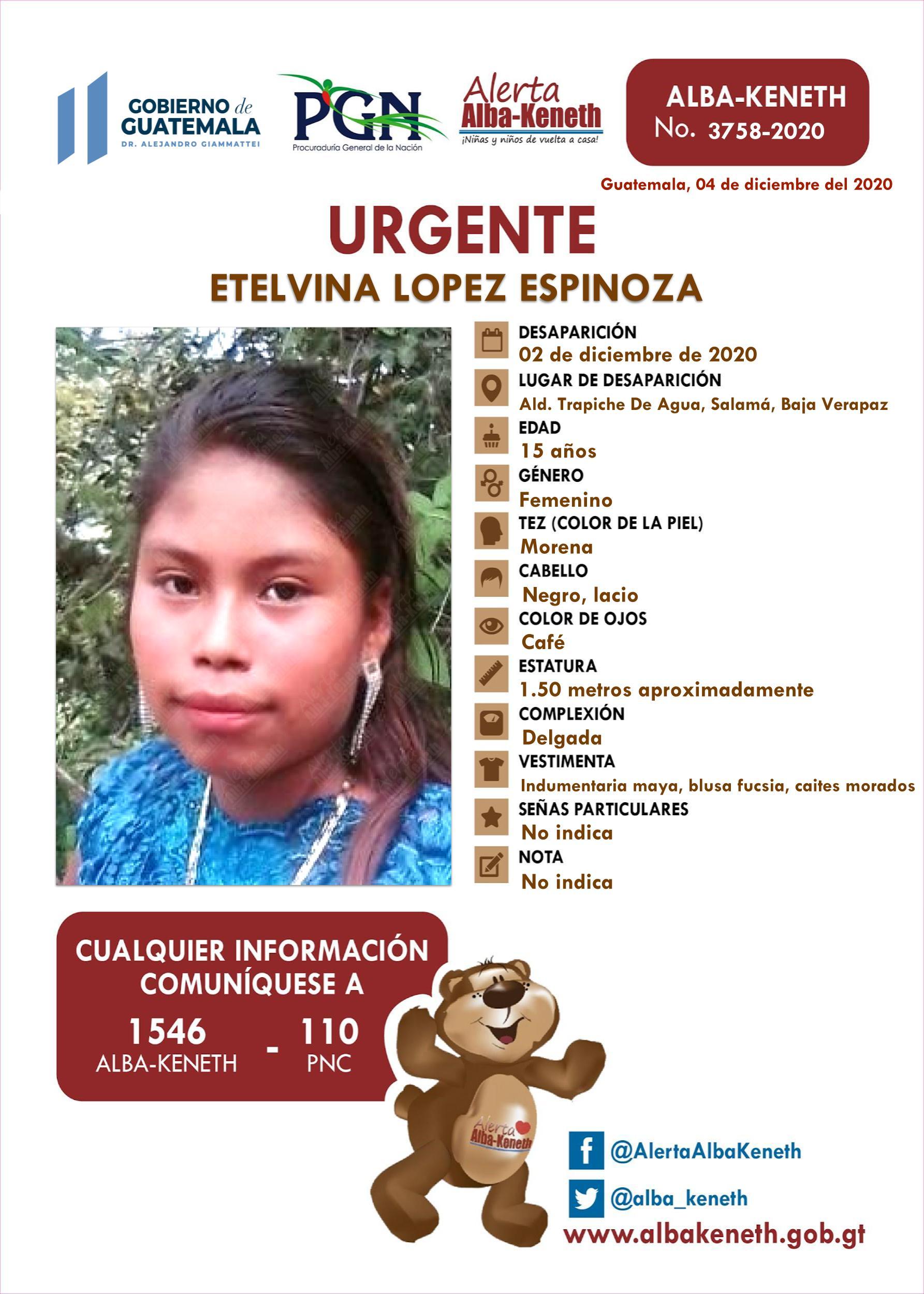 Etelvina Lopez Espinoza