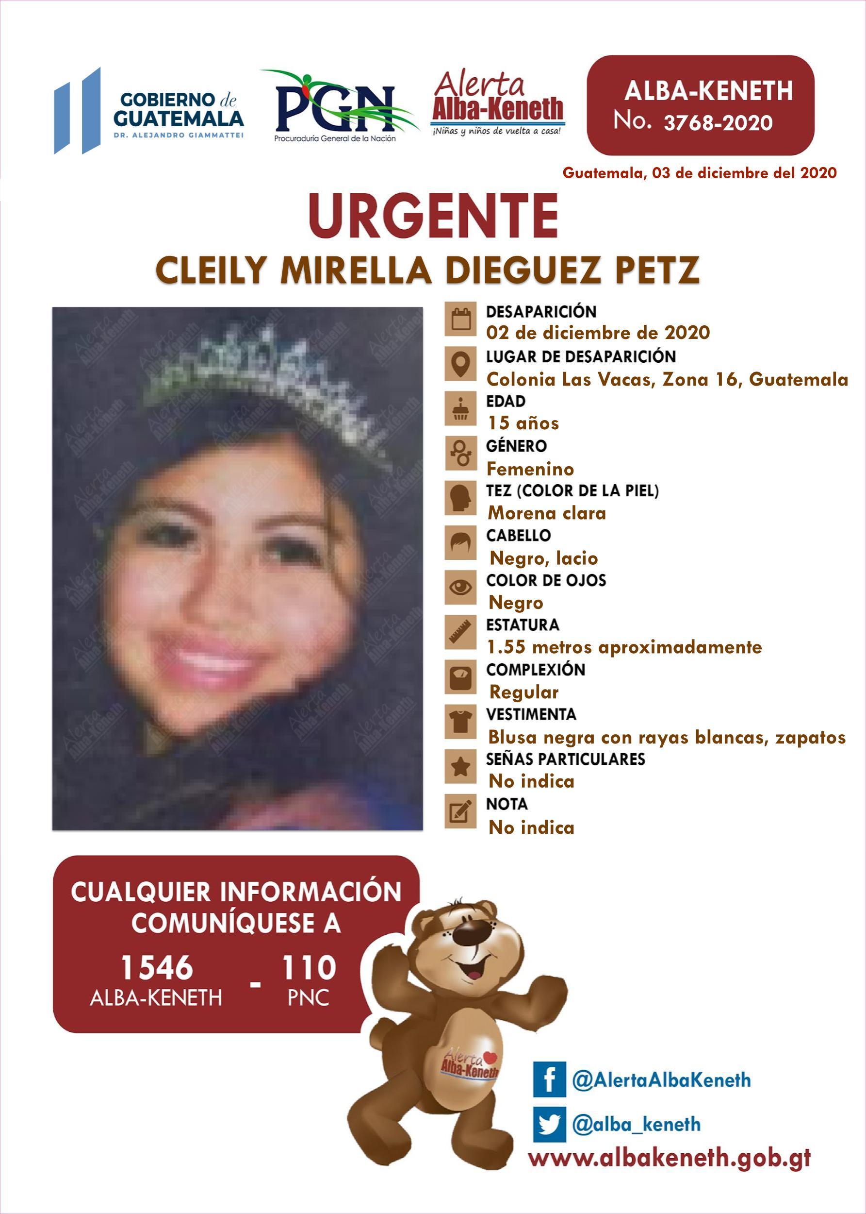 Cleily Mirella Dieguez Petz