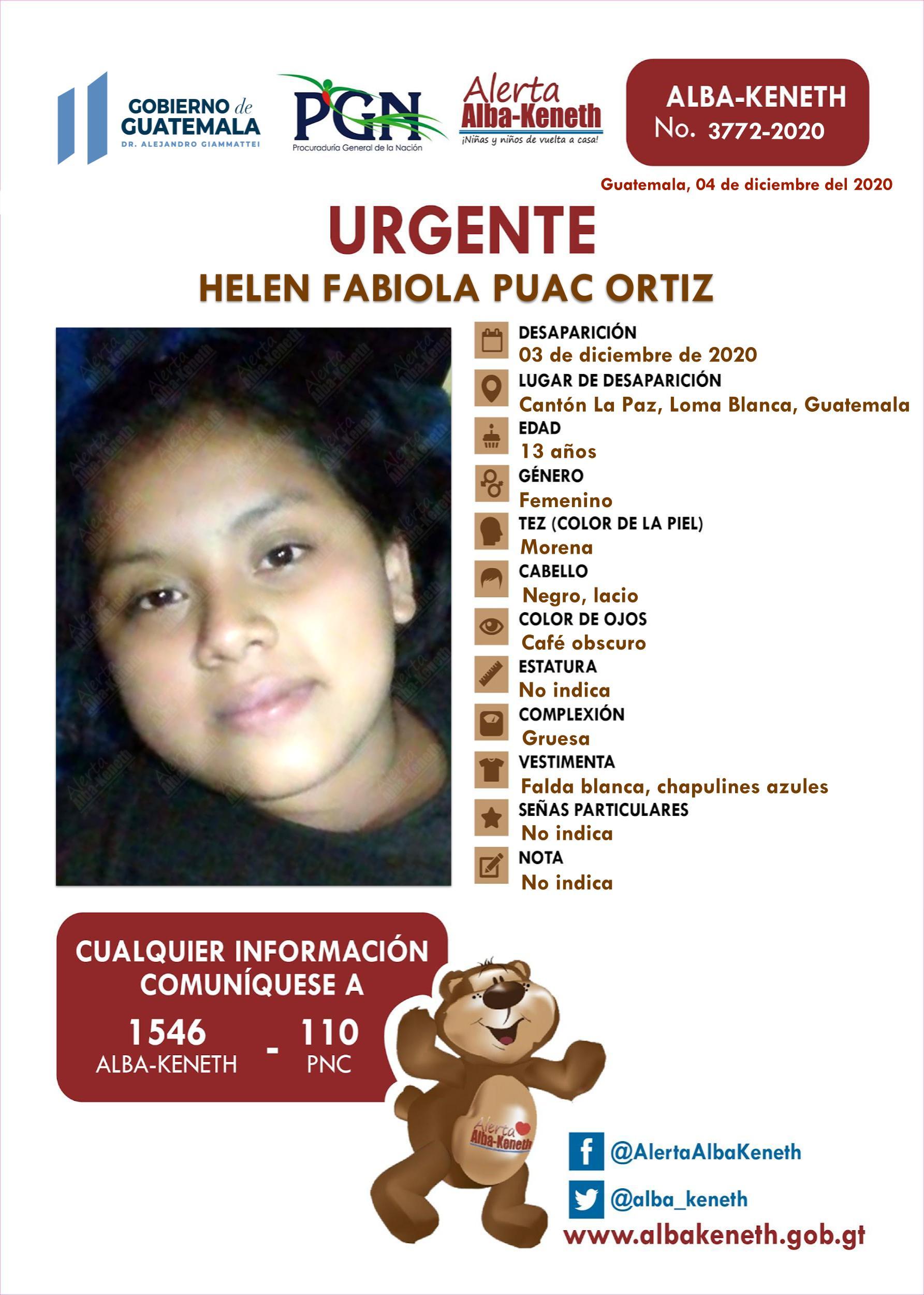Helen Fabiola Puac Ortiz