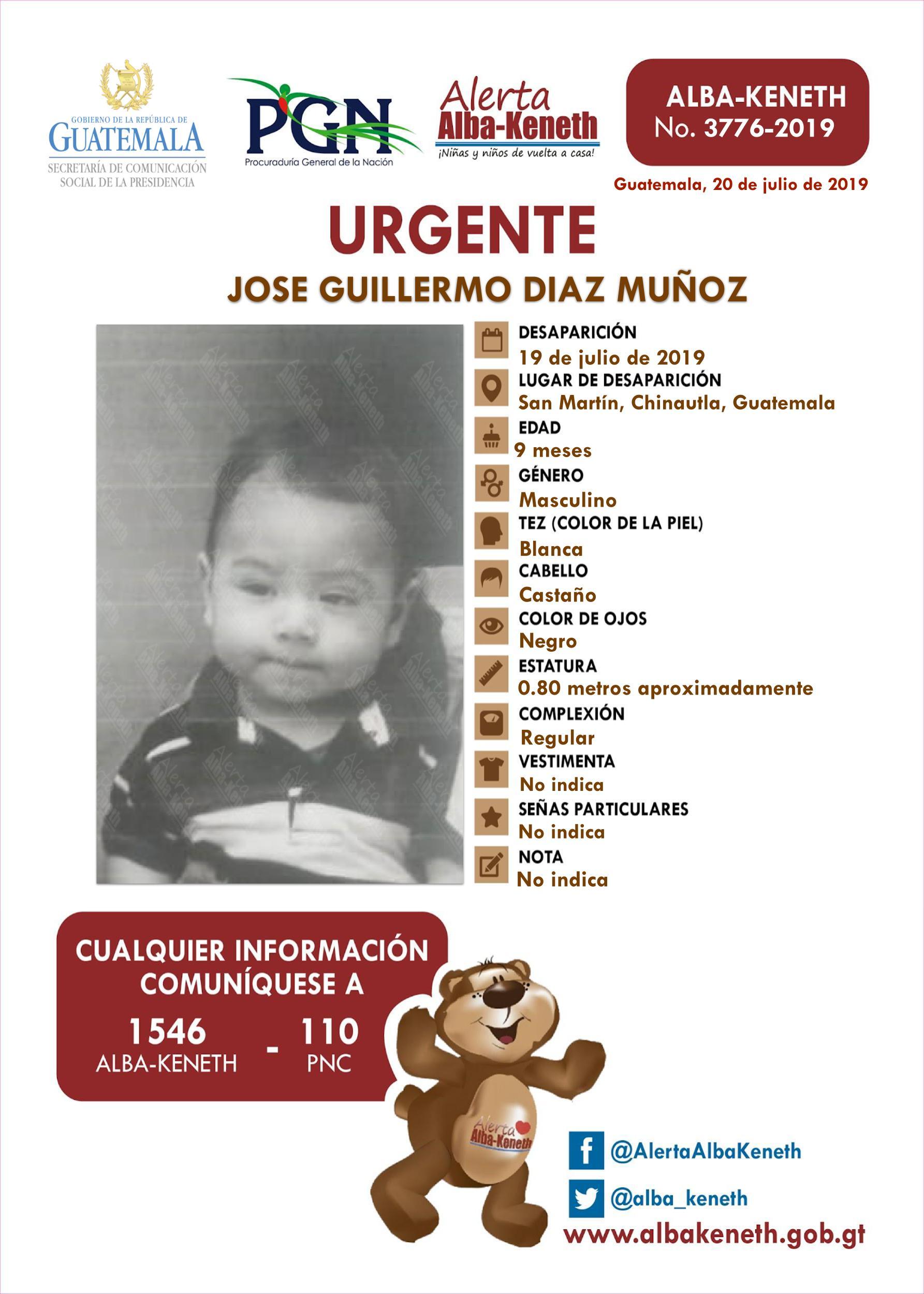 Jose Guillermo Diaz Muñoz