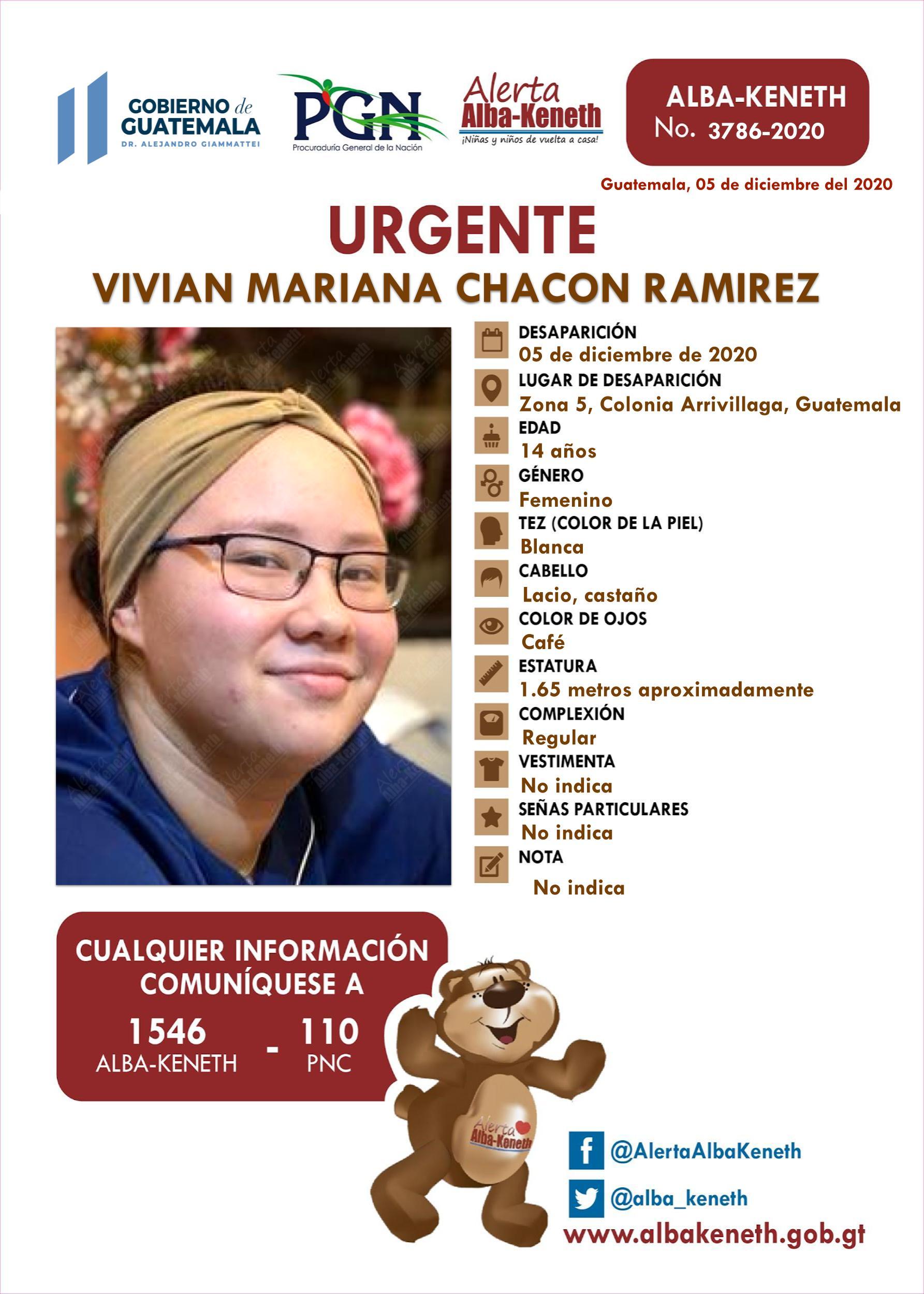 Vivian Mariana Chacon Ramirez