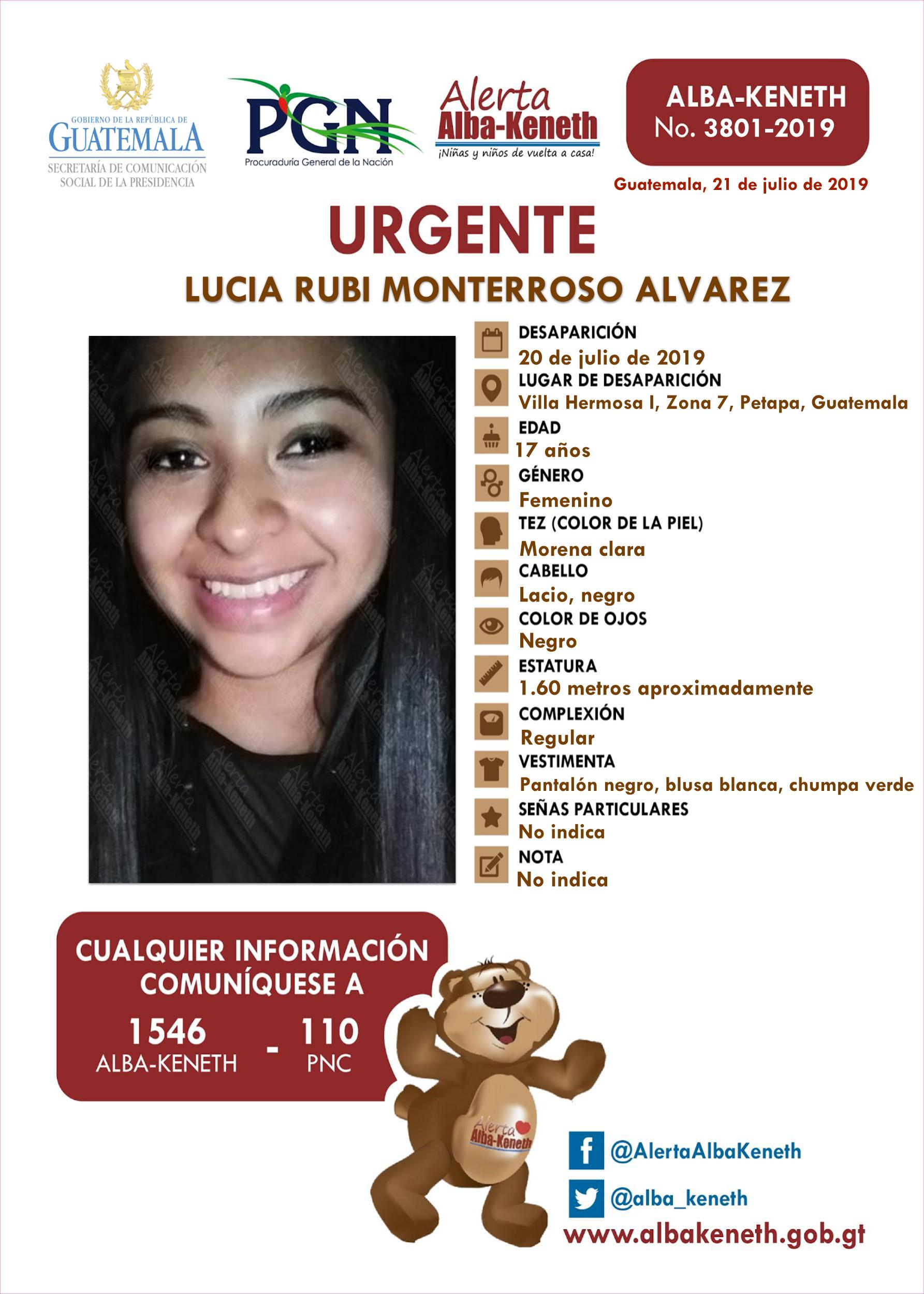 Lucia Rubi Monterroso Alvarez
