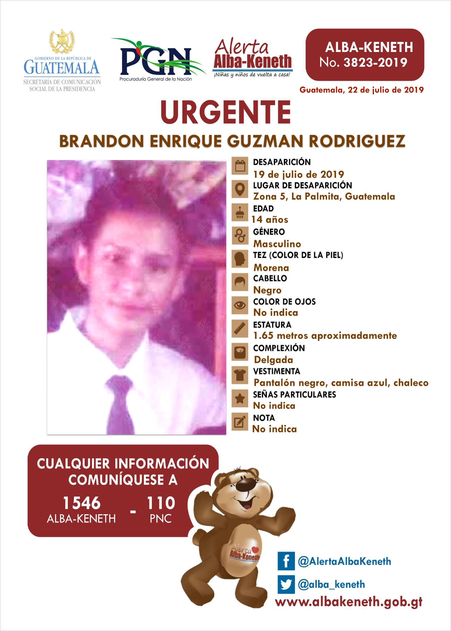 Brandon Enrique Guzman Rodriguez