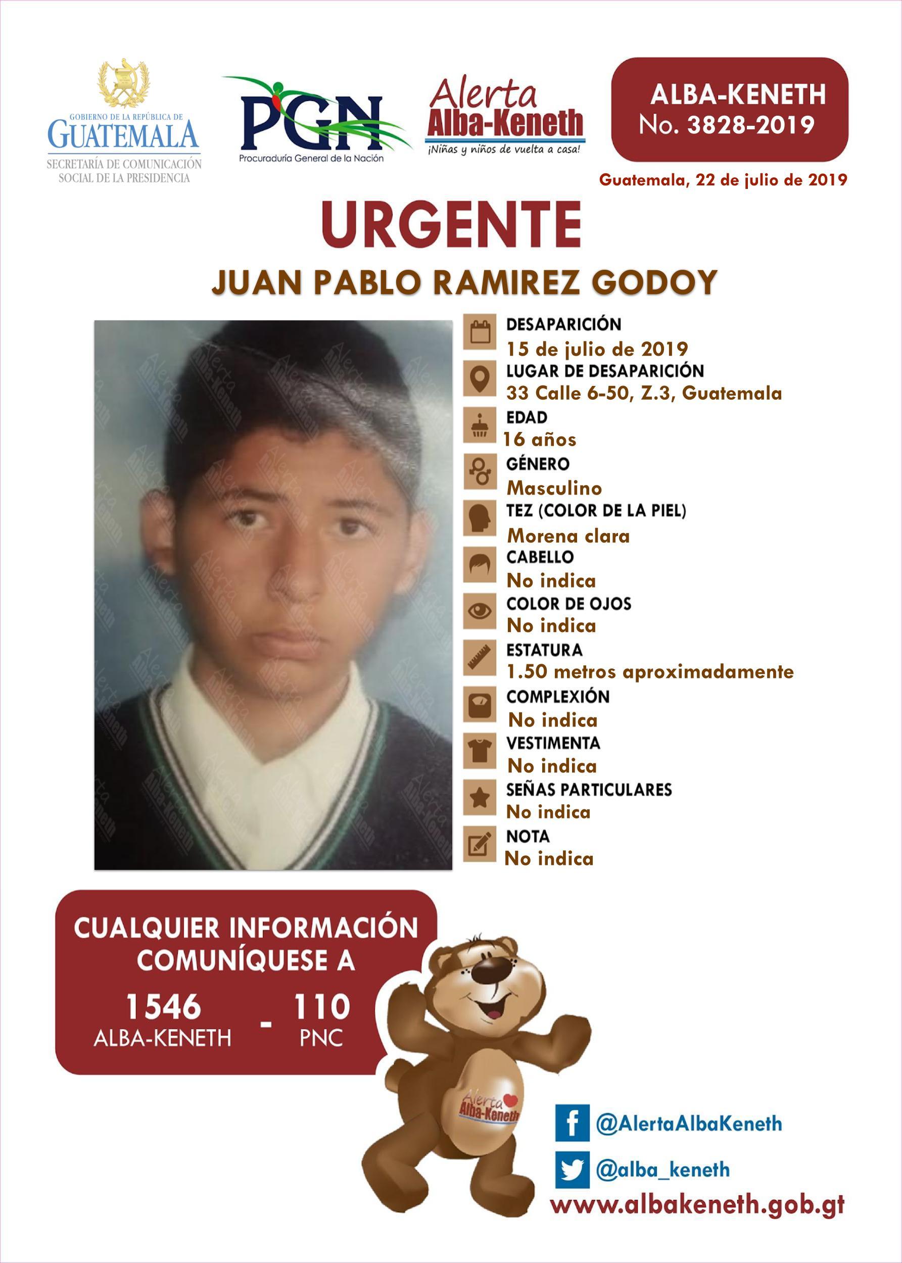 Juan Pablo Ramirez Godoy