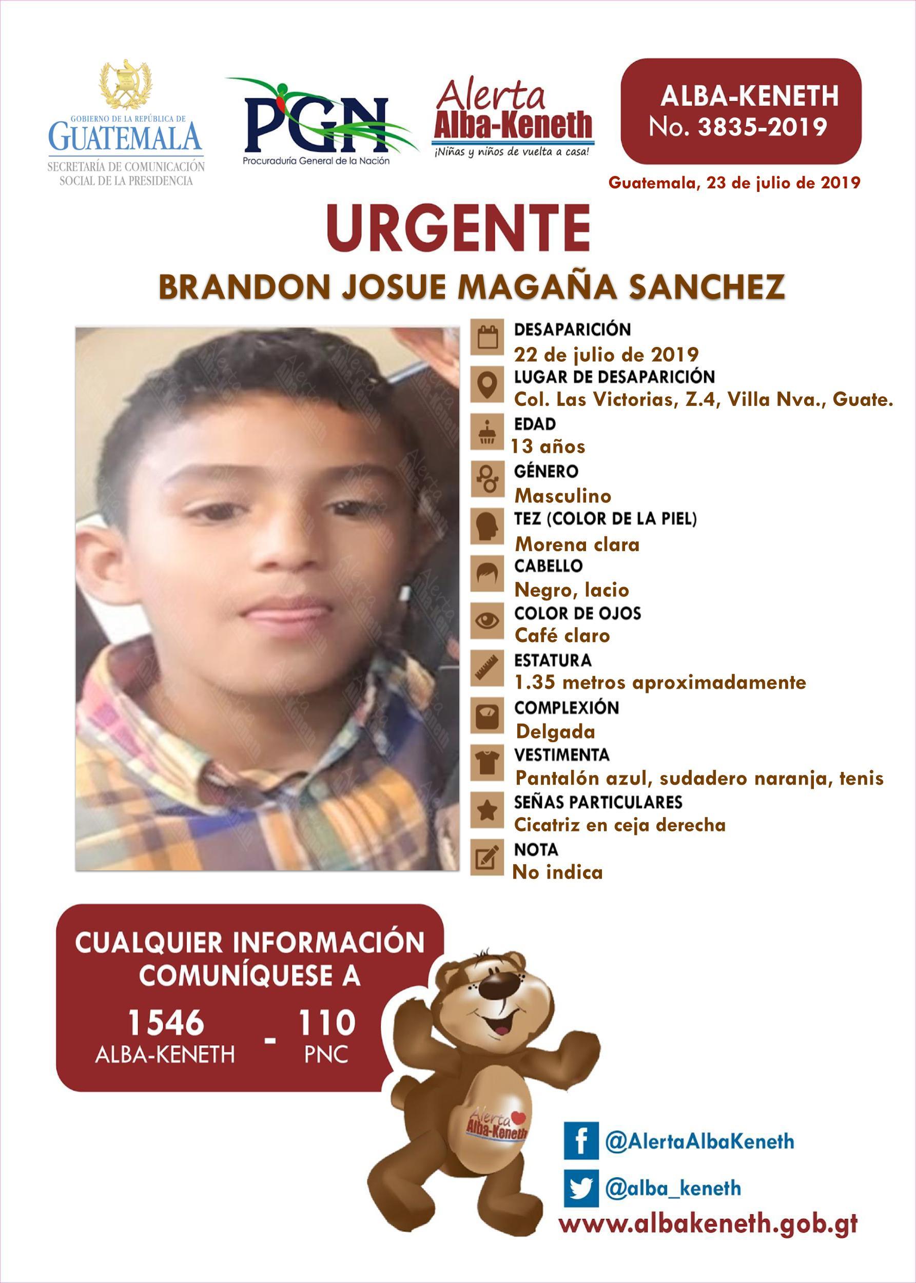 Brandon Josue Magaña Sanchez