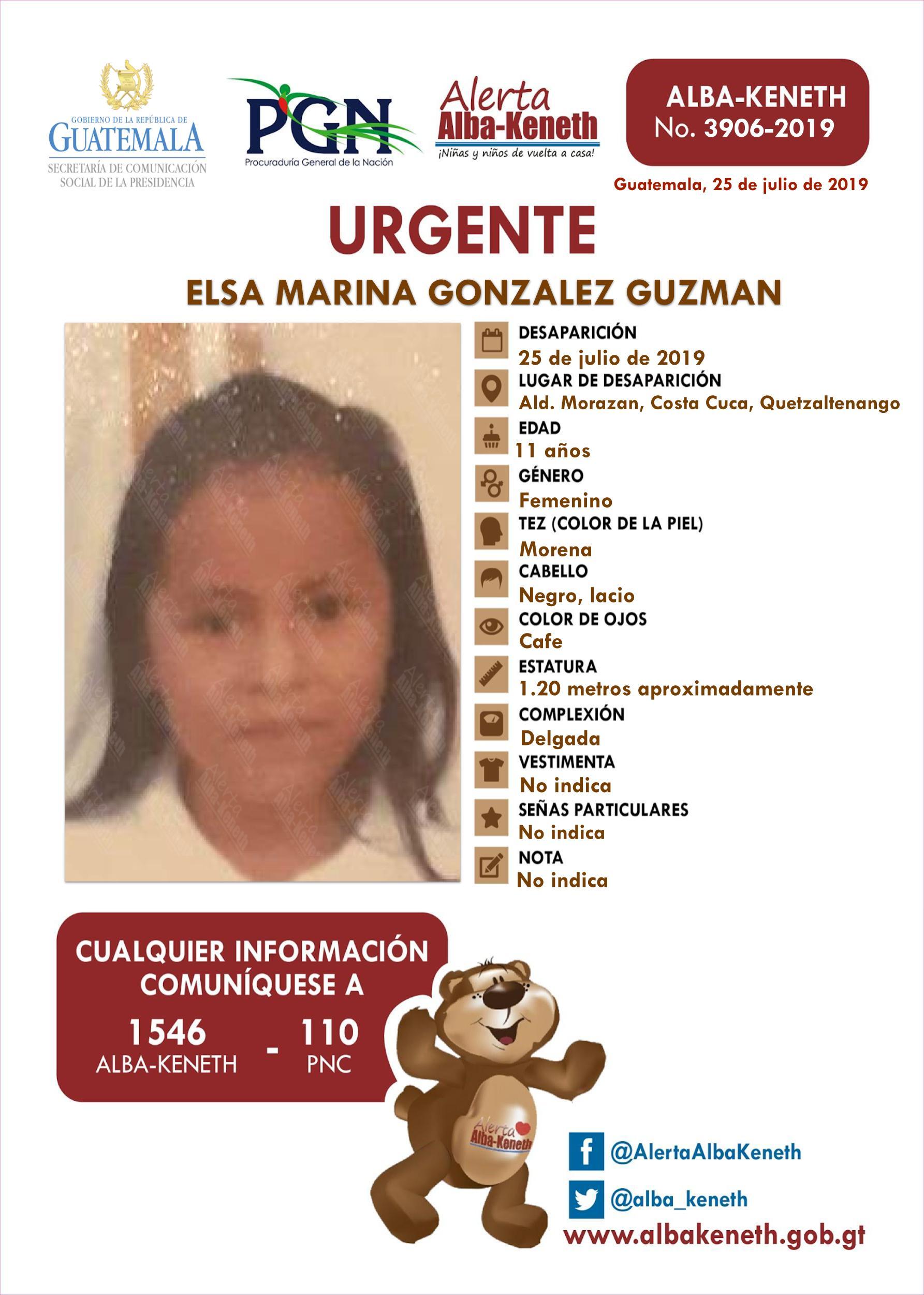 Elsa Marina Gonzalez Guzman