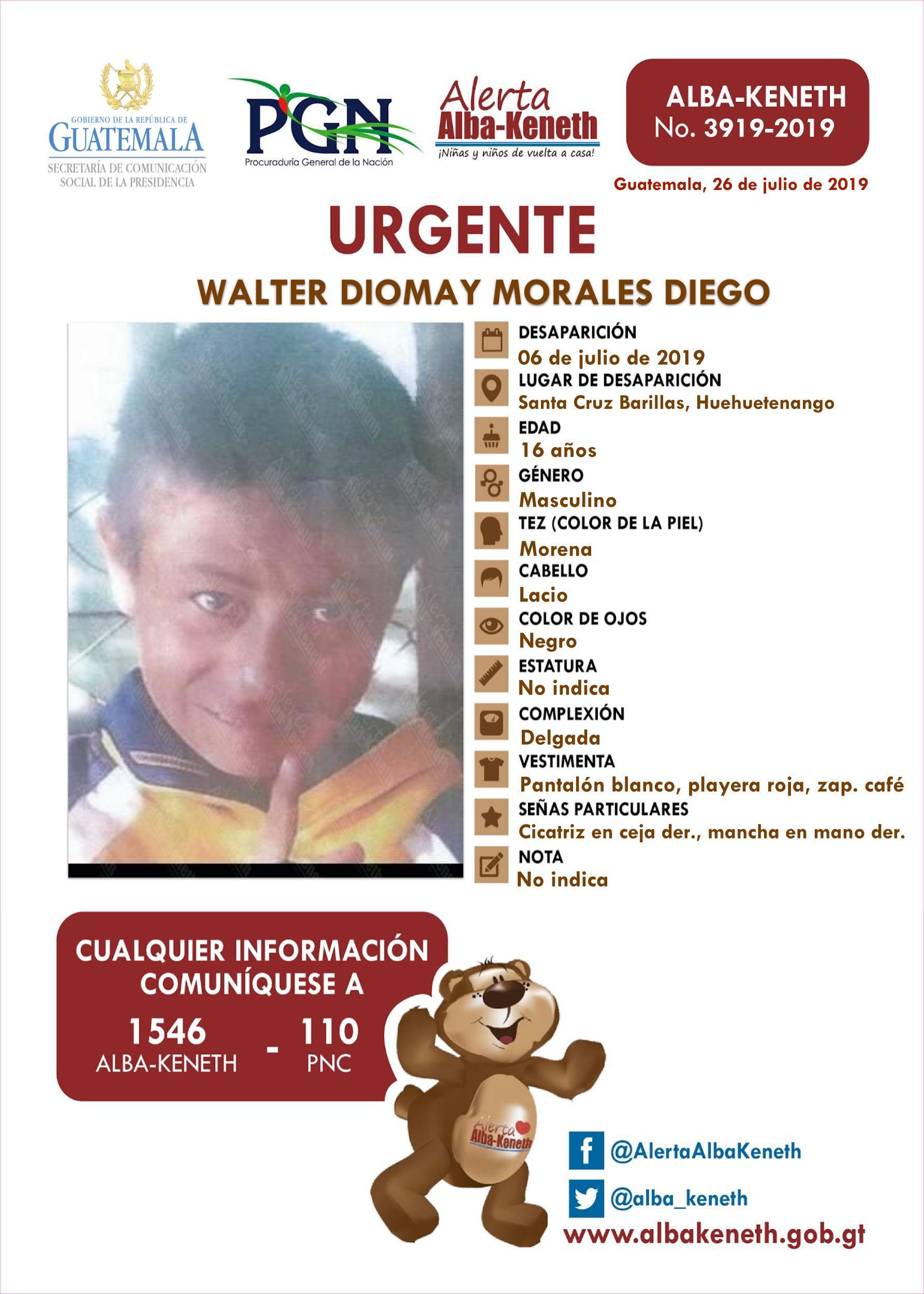 Walter Diomay Morales Diego