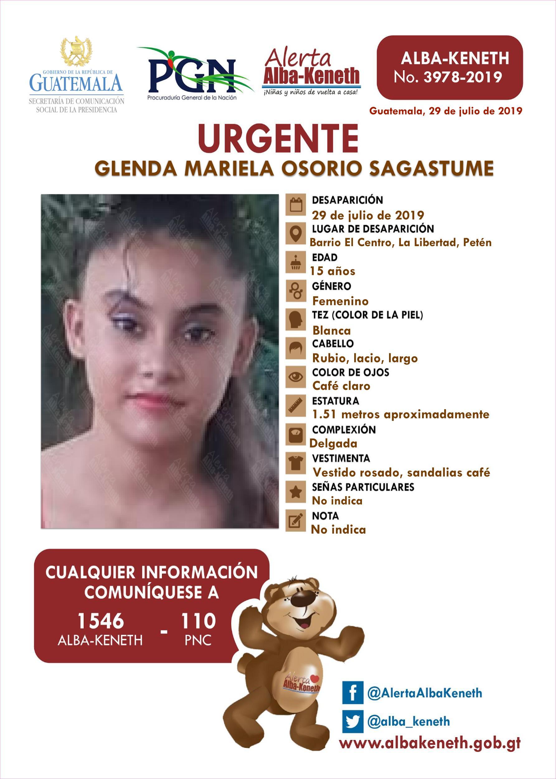 Glenda Mariela Osorio Sagastume