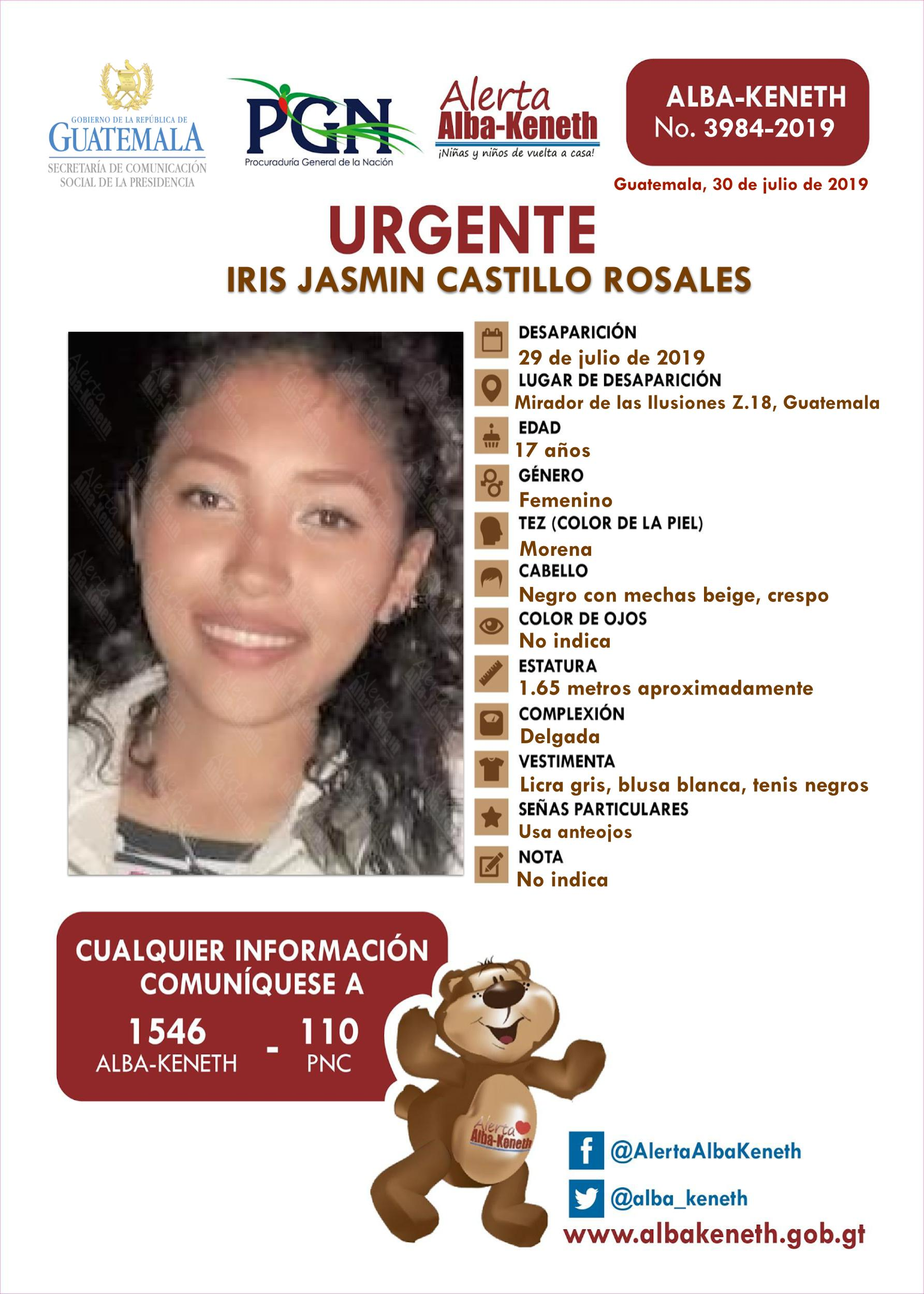 Iris Jasmin Castillo Rosales