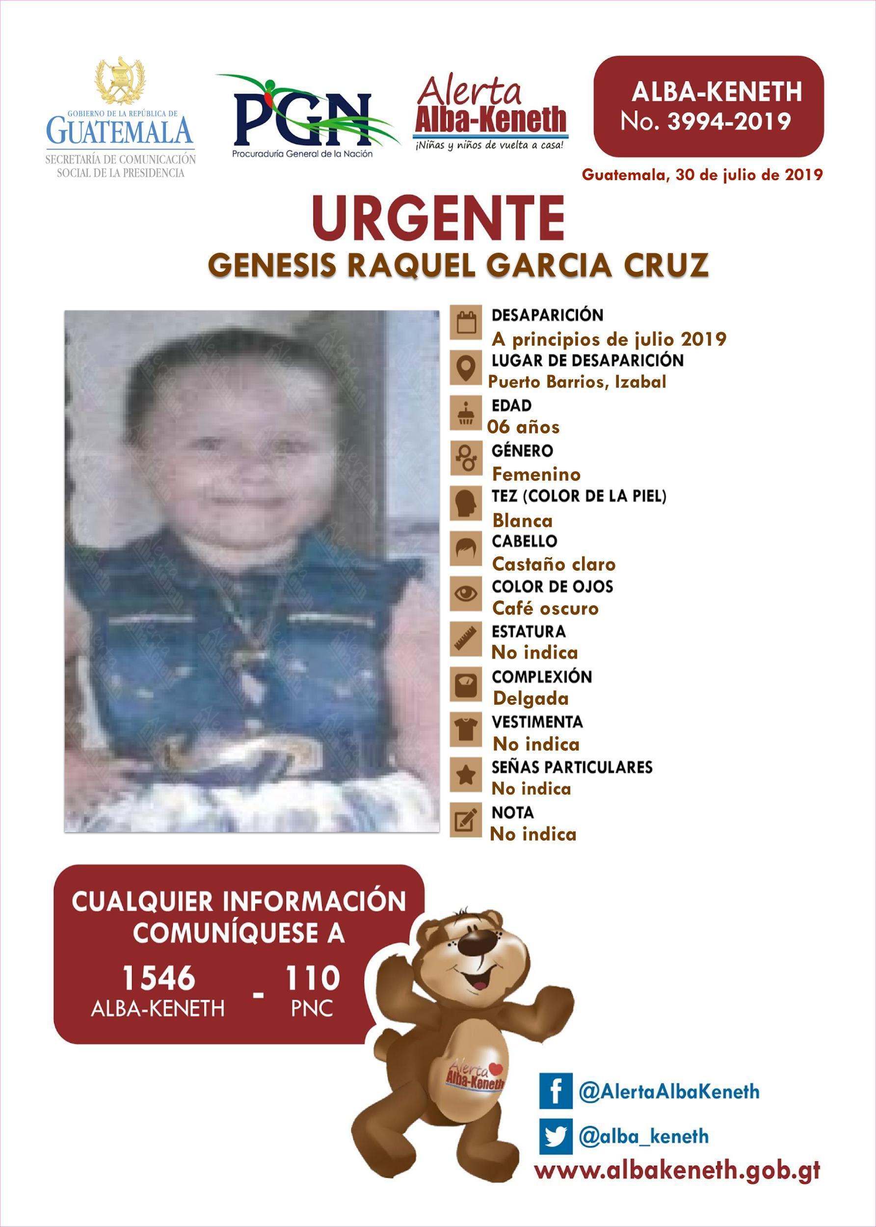 Genesis Raquel Garcia Cruz