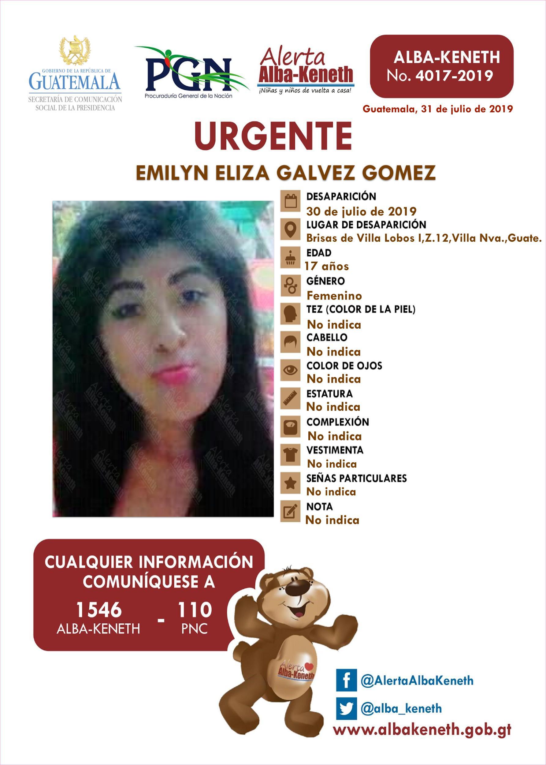 Emilyn Eliza Galvez Gomez