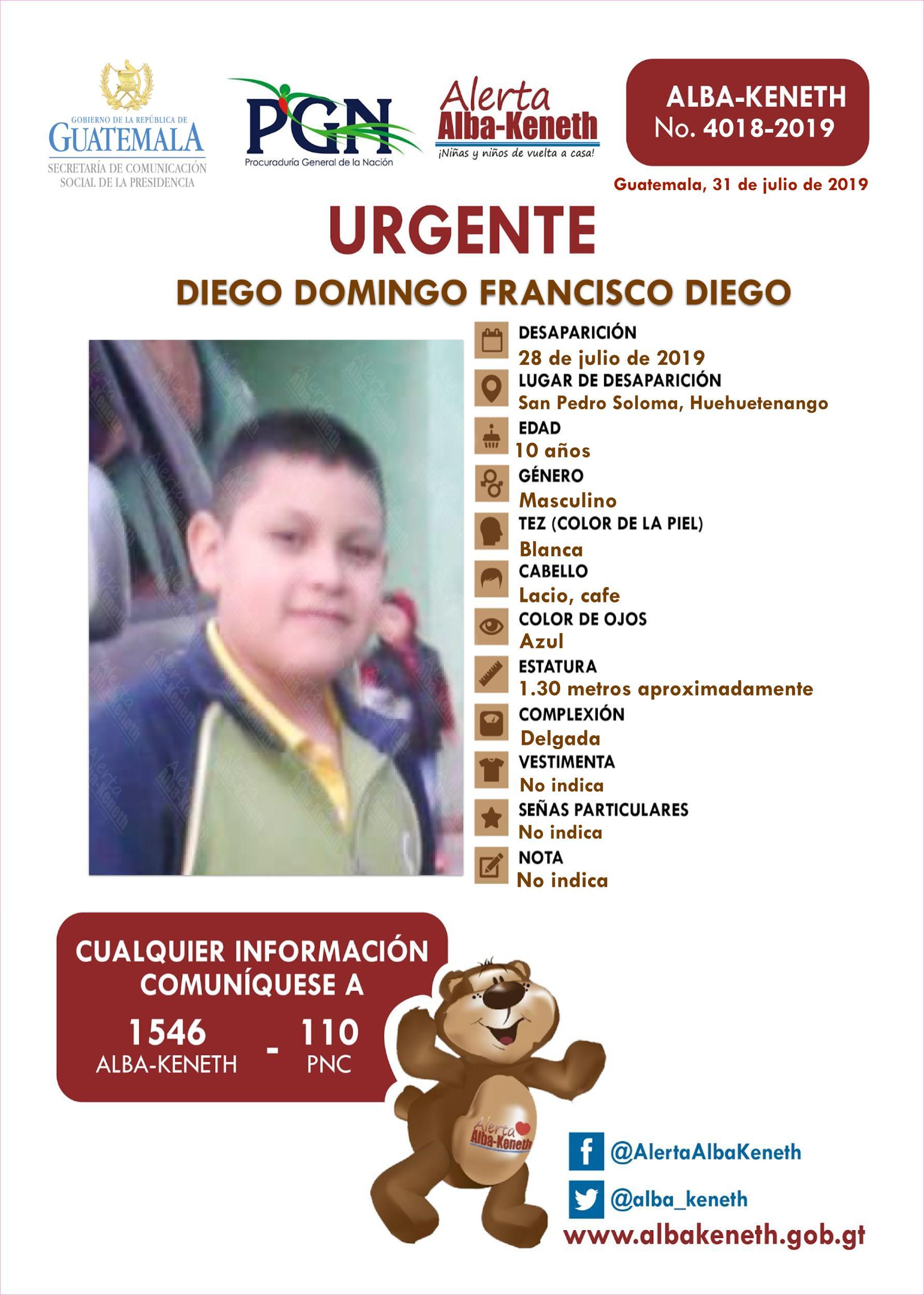 Diego Domingo Francisco Diego
