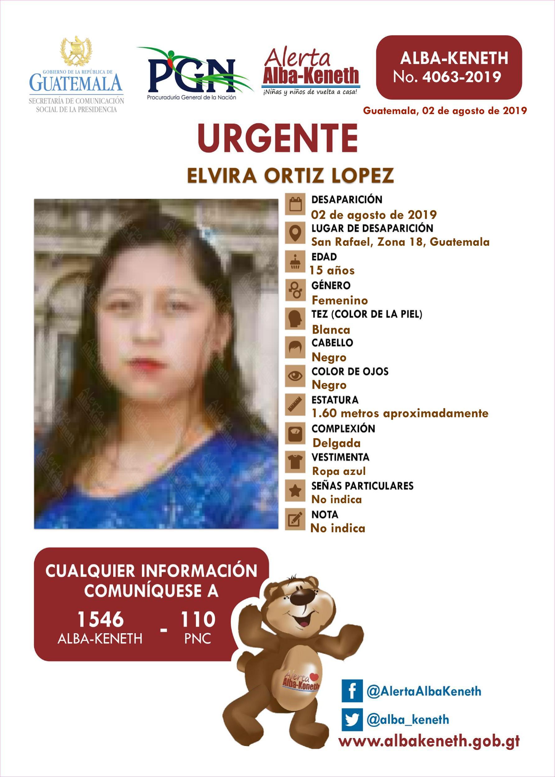 Elvira Ortiz Lopez