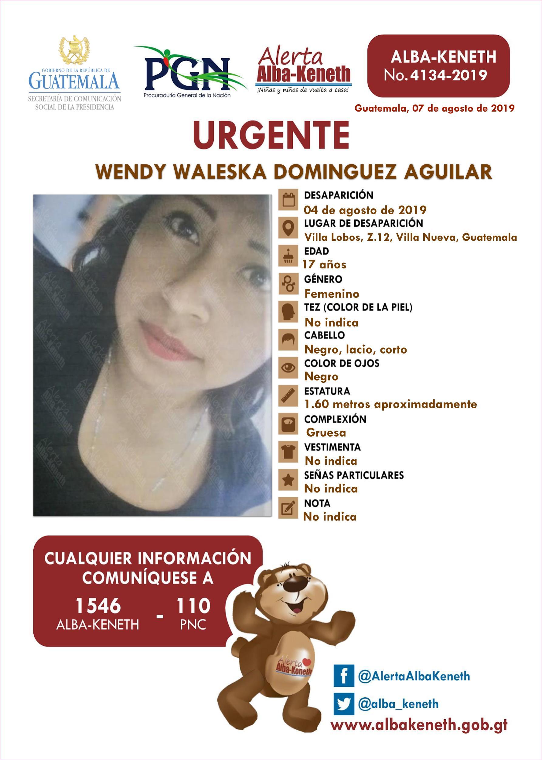Wendy Waleska Dominguez Aguilar