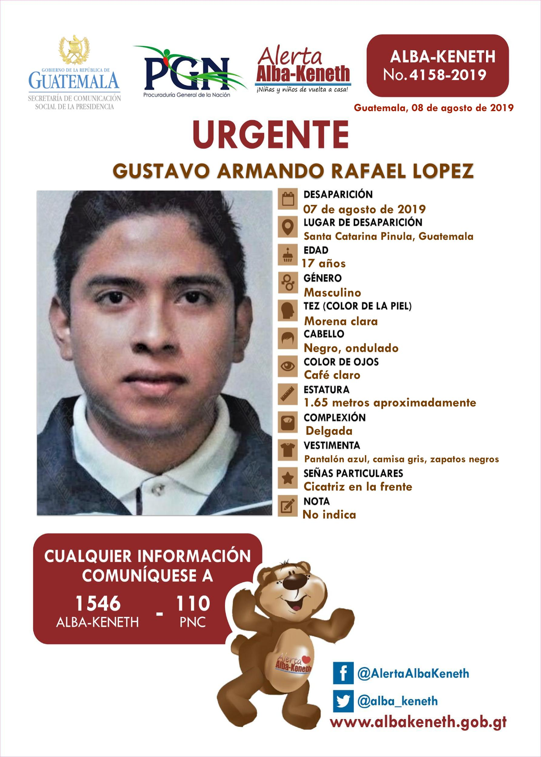 Gustavo Armando Rafael Lopez