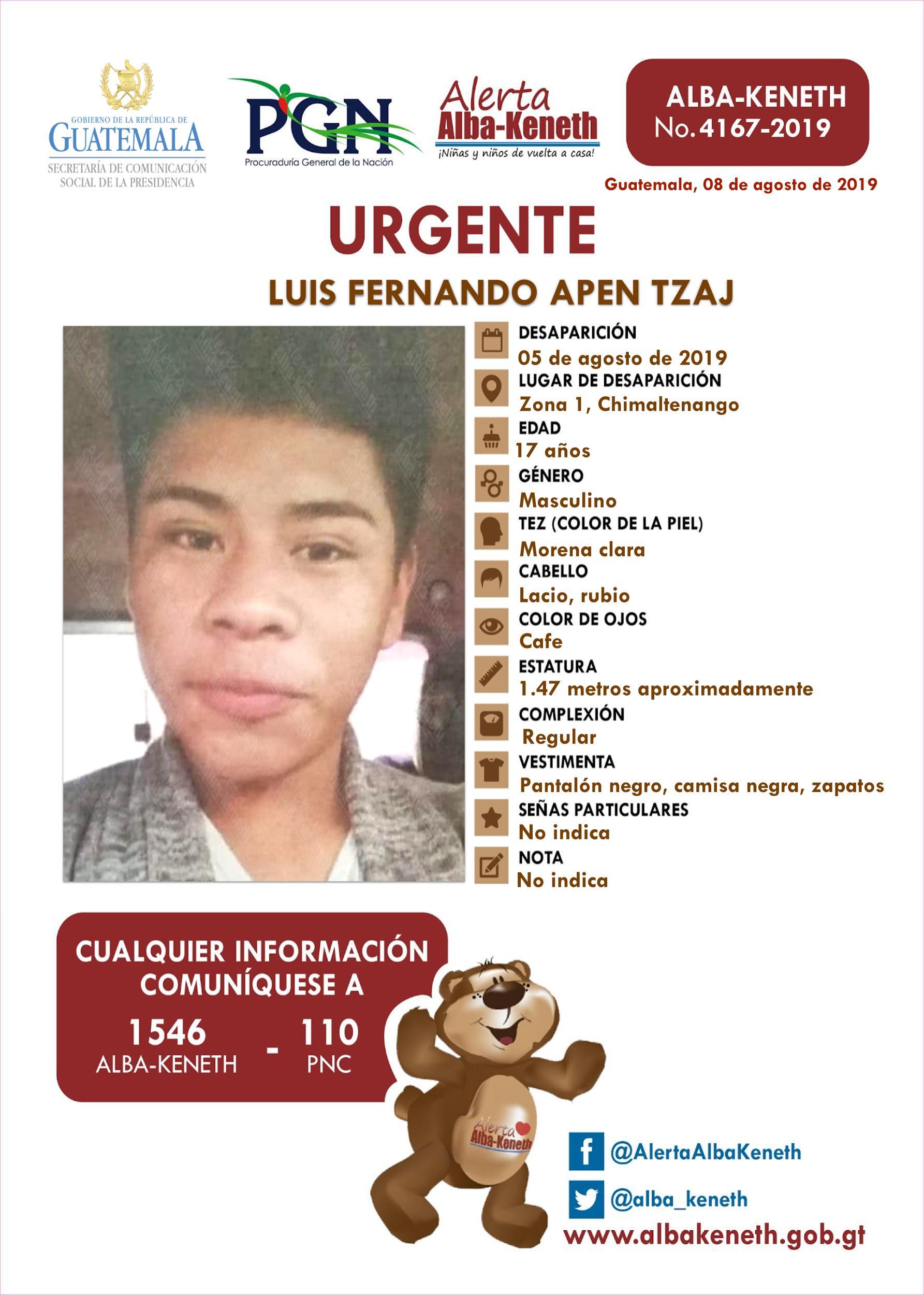 Luis Fernando Apen Tzaj