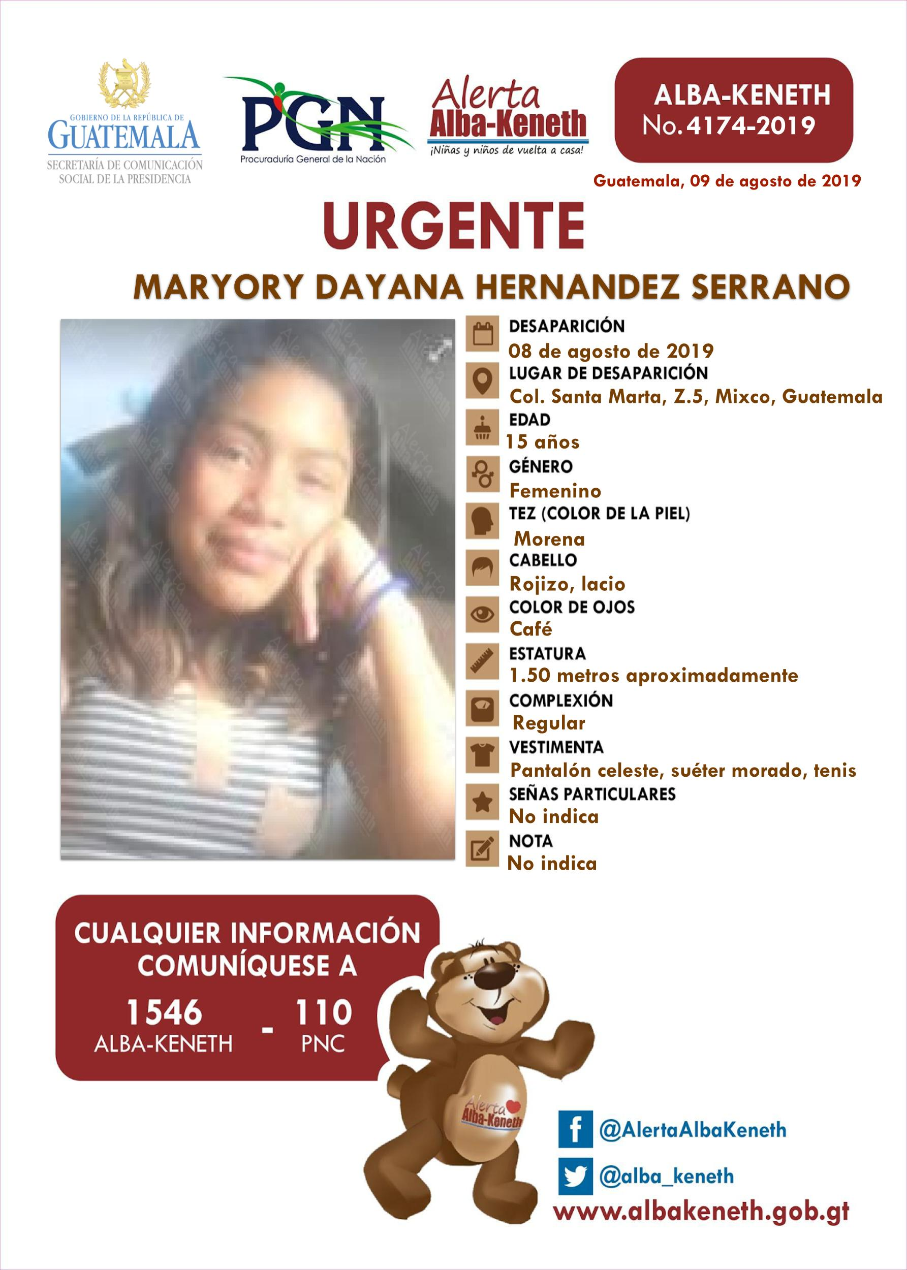 Maryory Dayana Hernandez Serrano