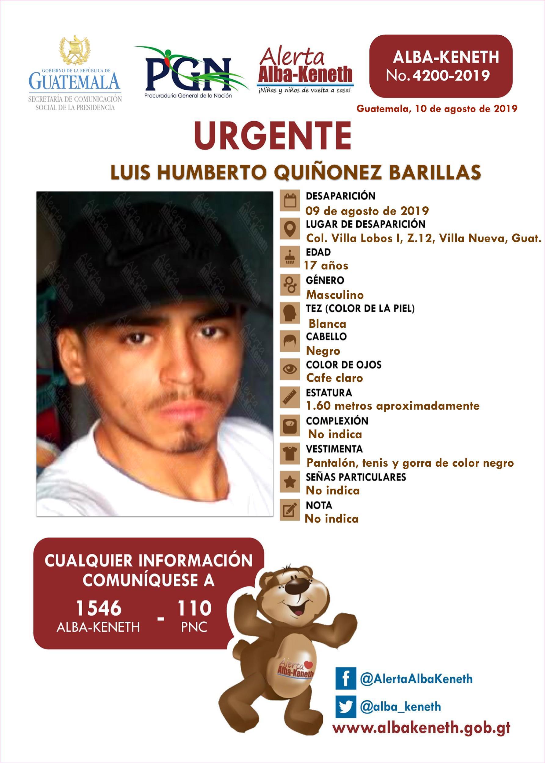 Luis Humberto Quiñonez Barillas