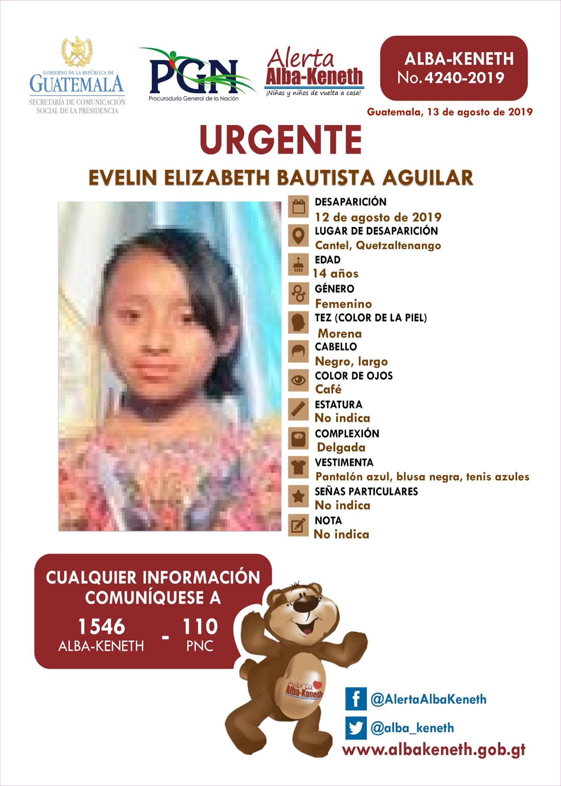 Evelin Elizabeth Bautista Aguilar