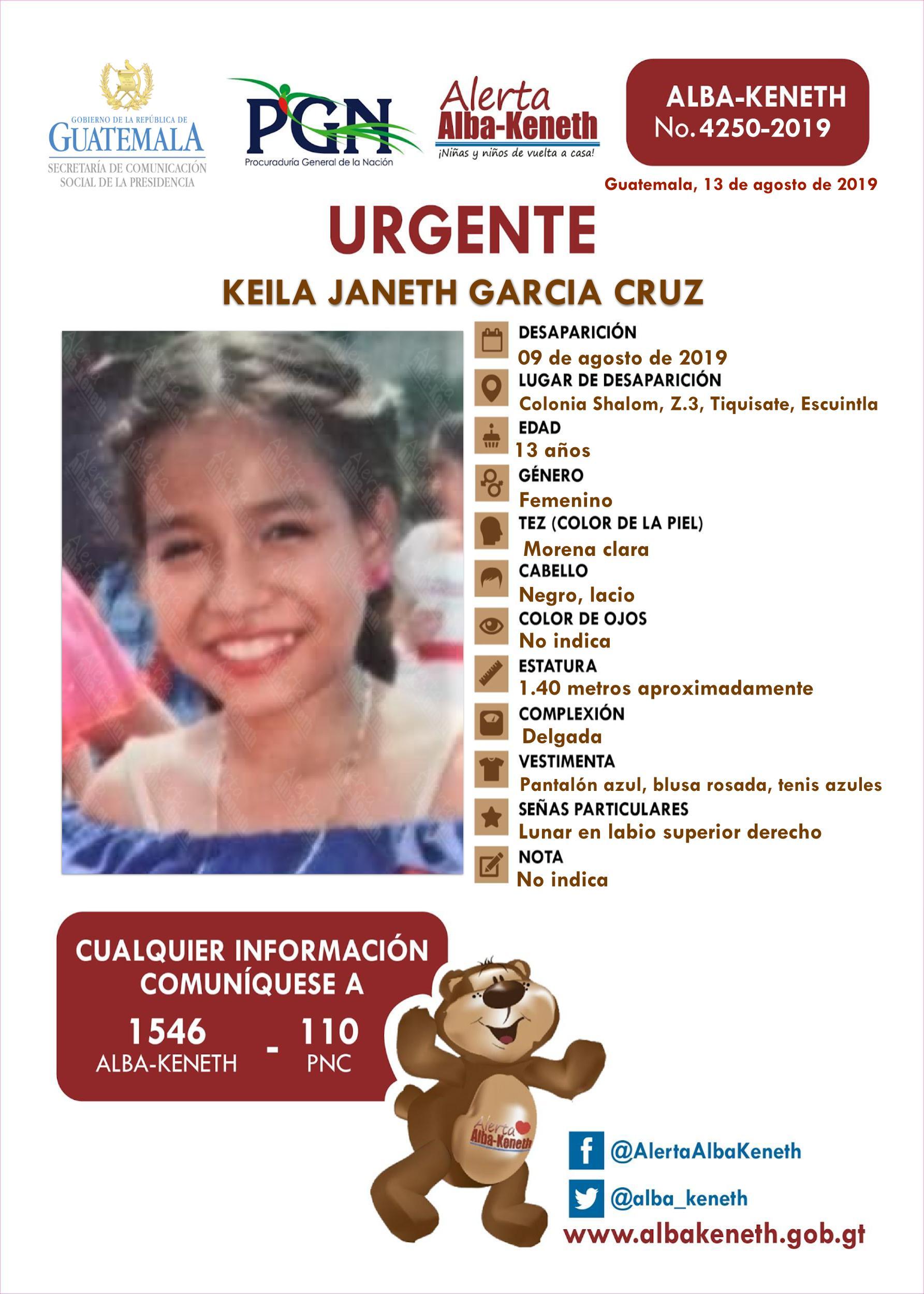 Keila Janeth Garcia Cruz
