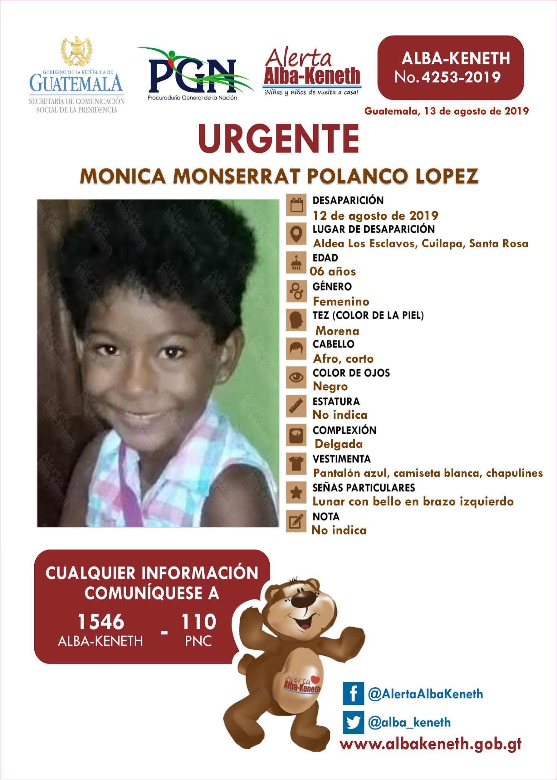 Monica Monserrat Polanco Lopez