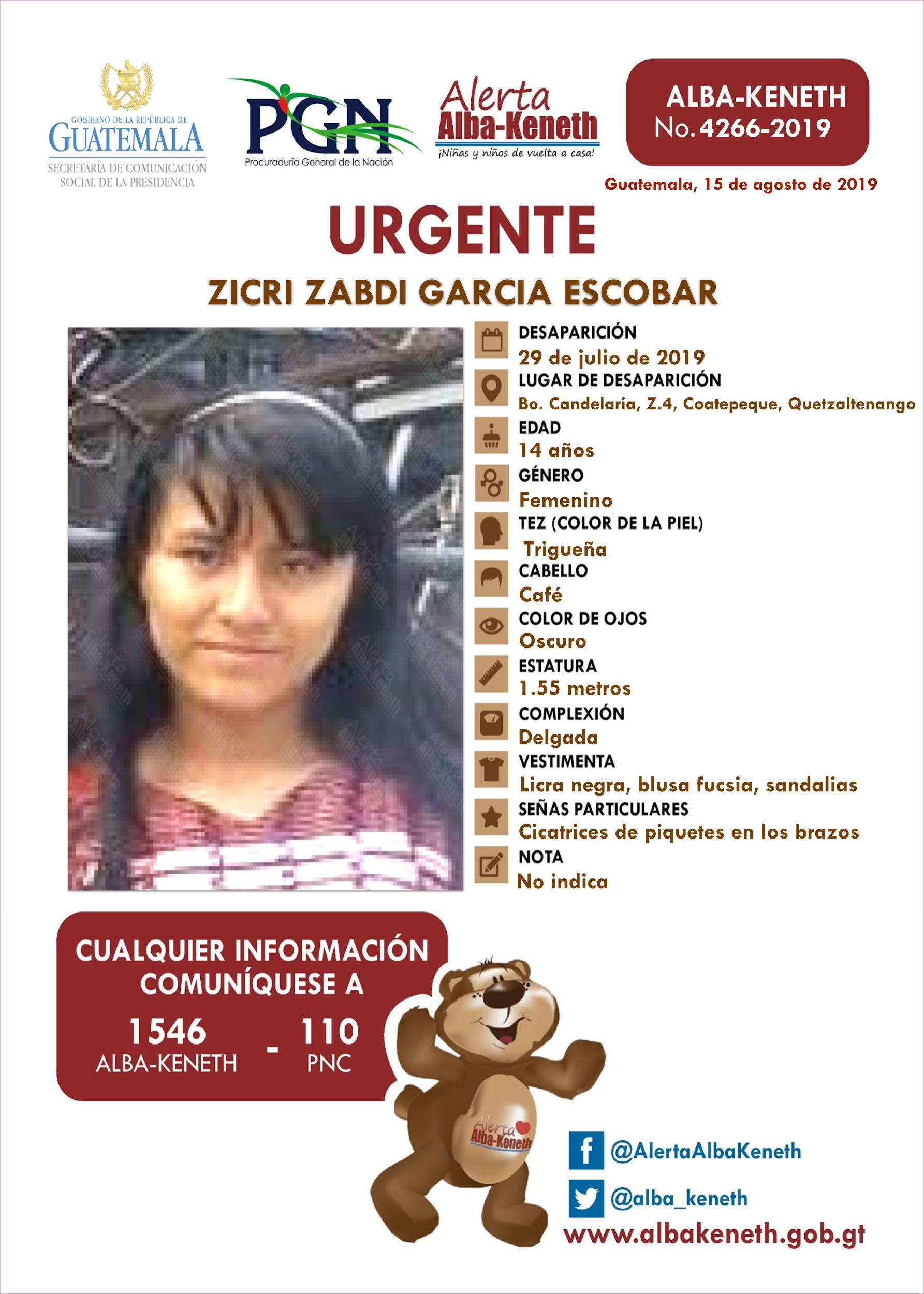 Zicri Zabdi Garcia Escobar