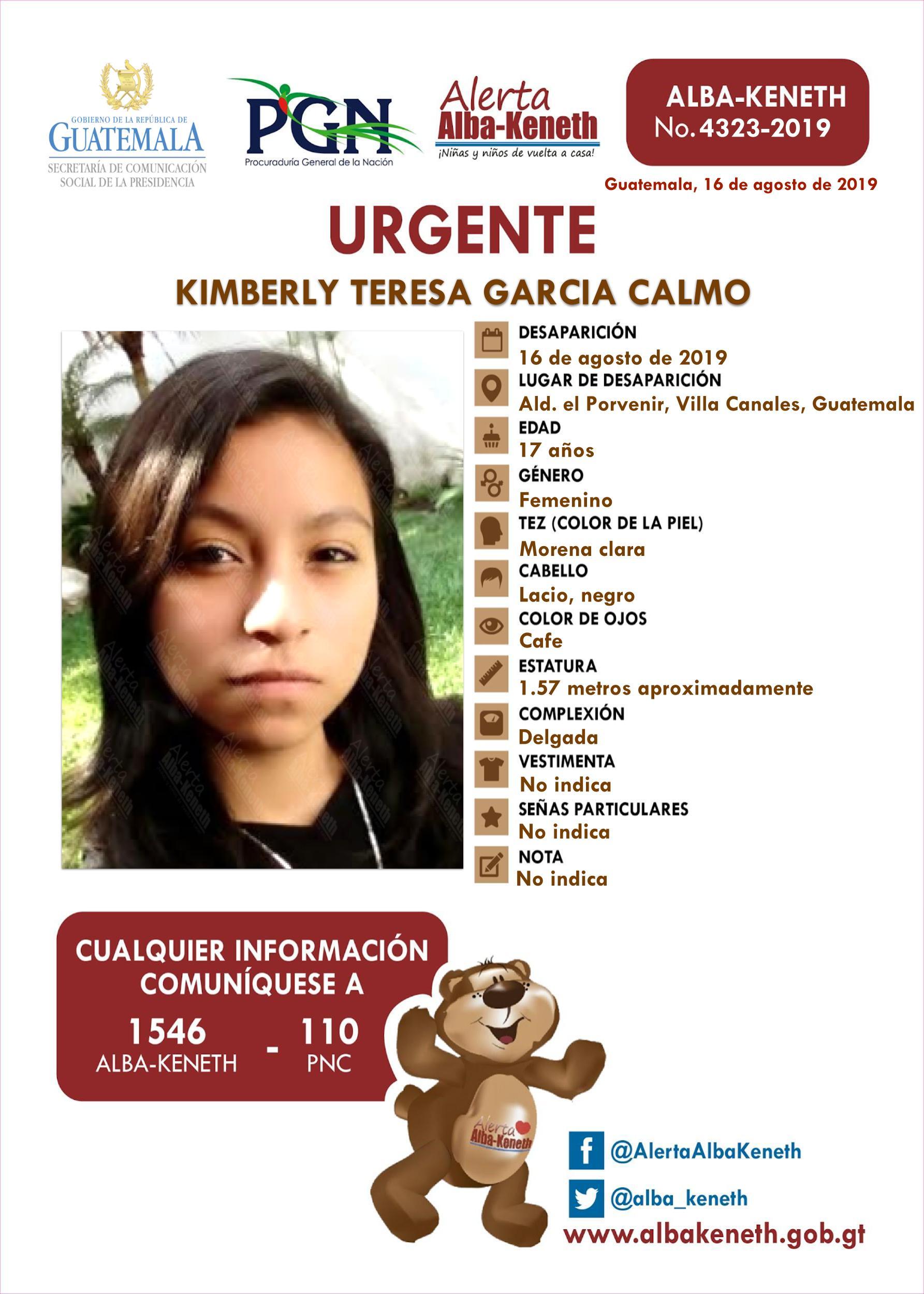 Kimberly Teresa Garcia Calmo