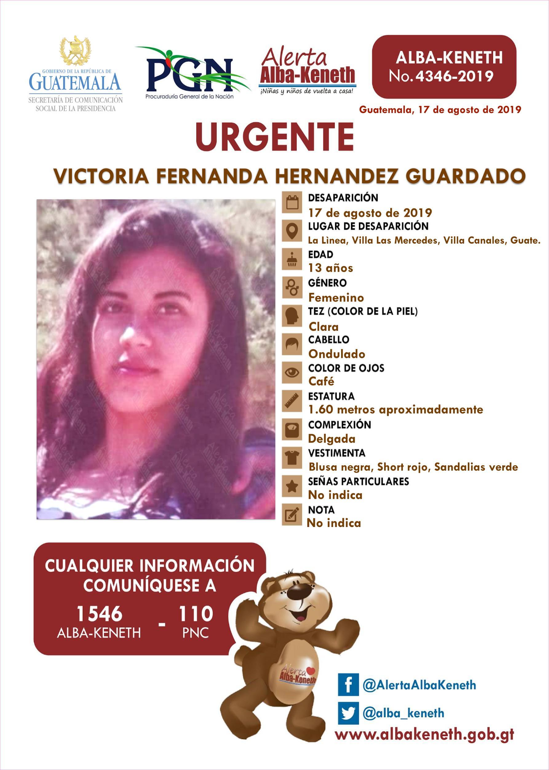Victoria Fernanda Hernandez Guardado