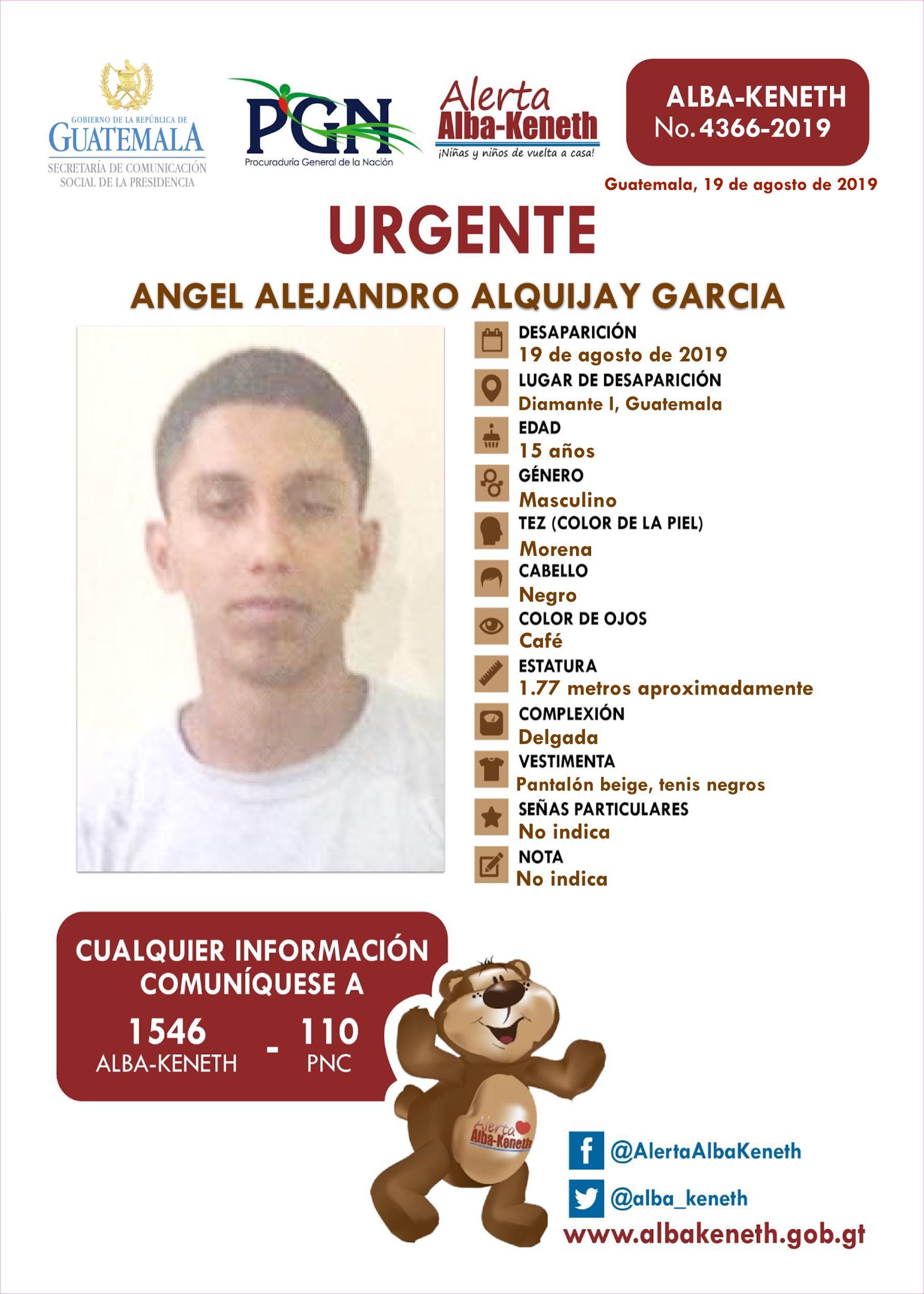 Angel Alejandro Alquijay Garcia