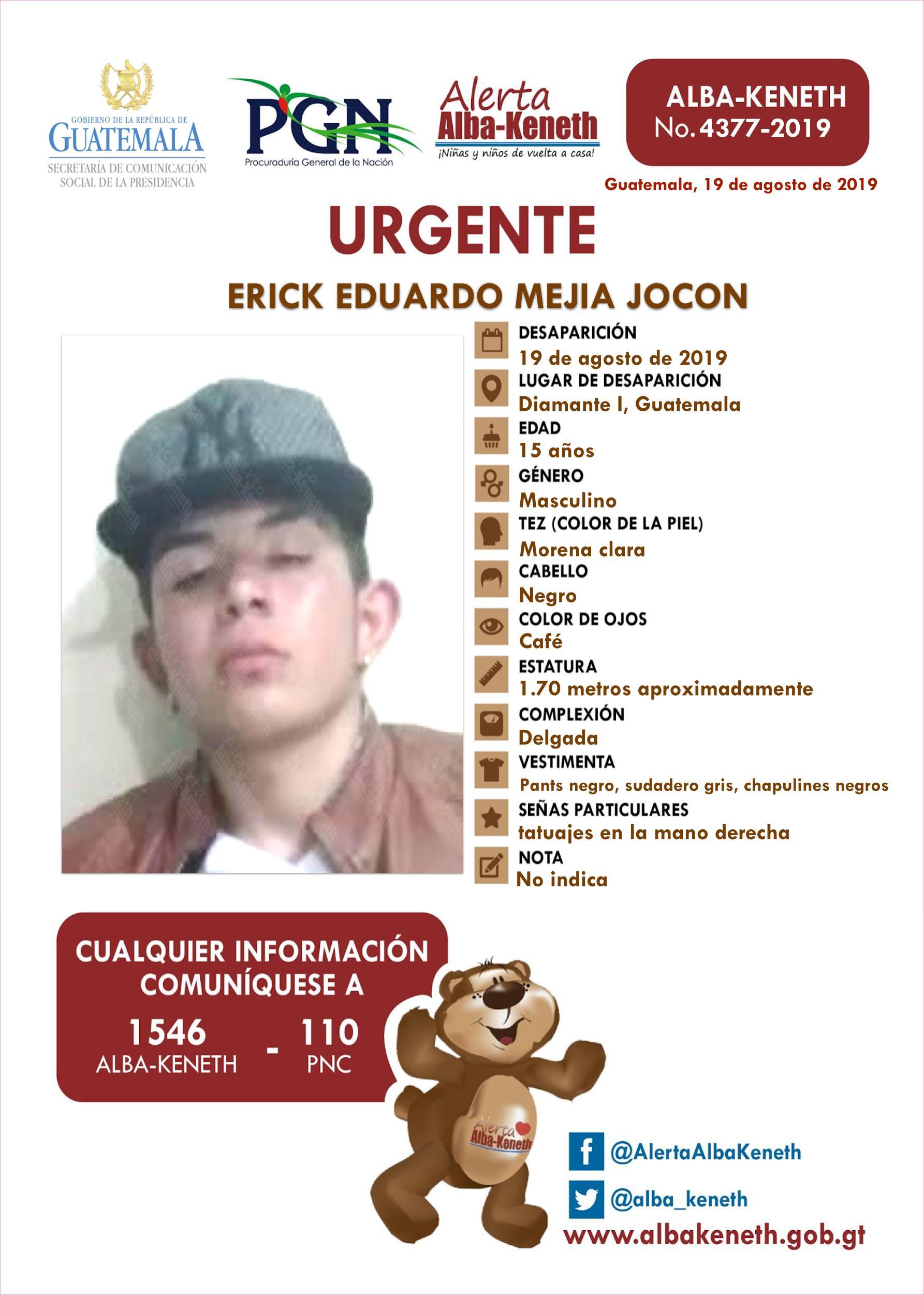 Erick Eduardo Mejia Jocon