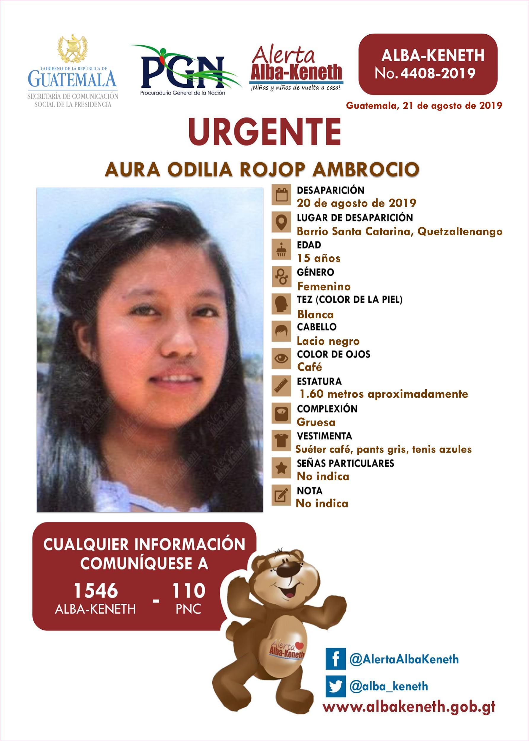 Aura Odilia Rojop Ambrocio