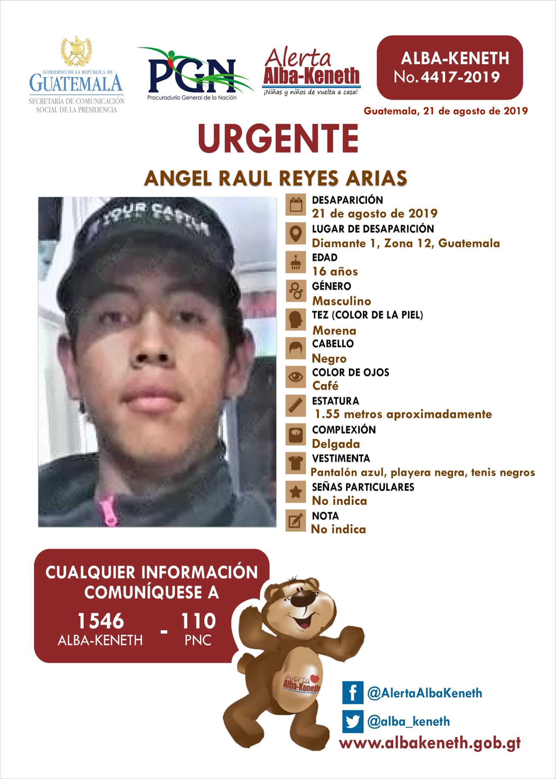 Angel Raul Reyes Arias