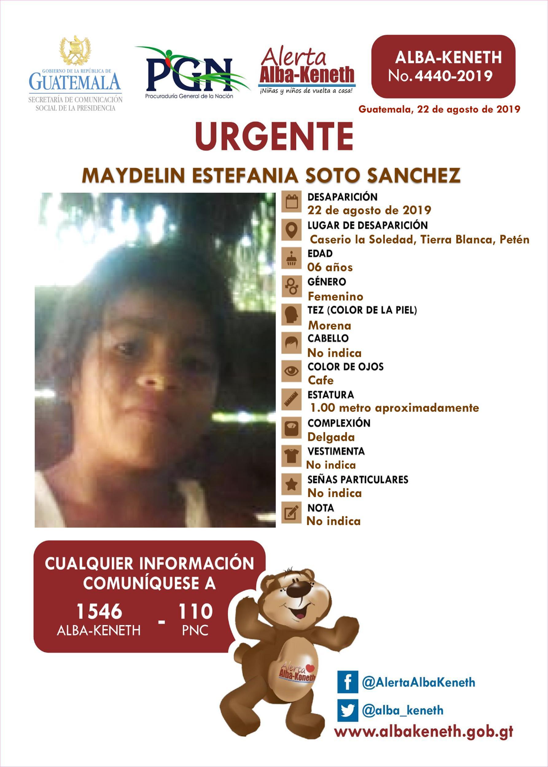 Maydelin Estefania Soto Sanchez