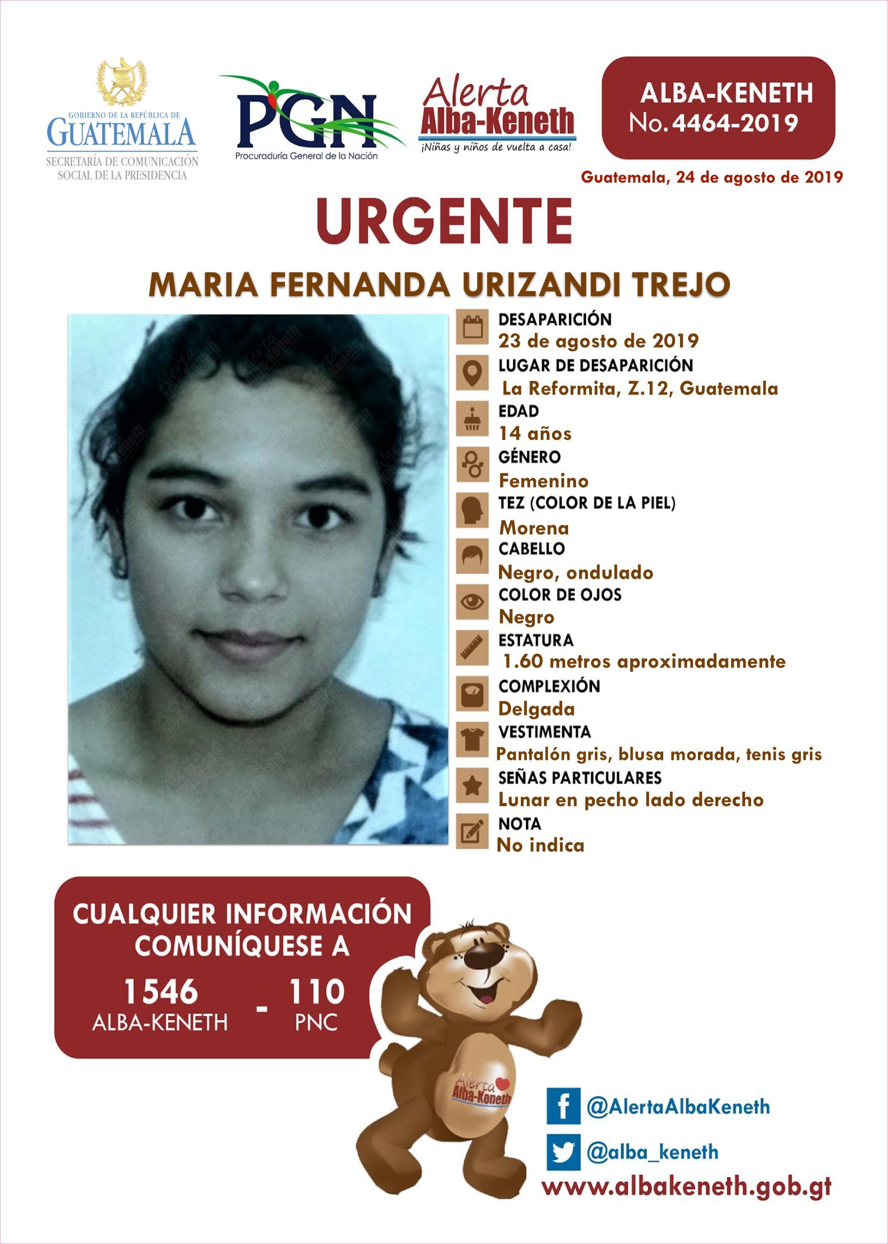 Maria Fernanda Urizando Trejo