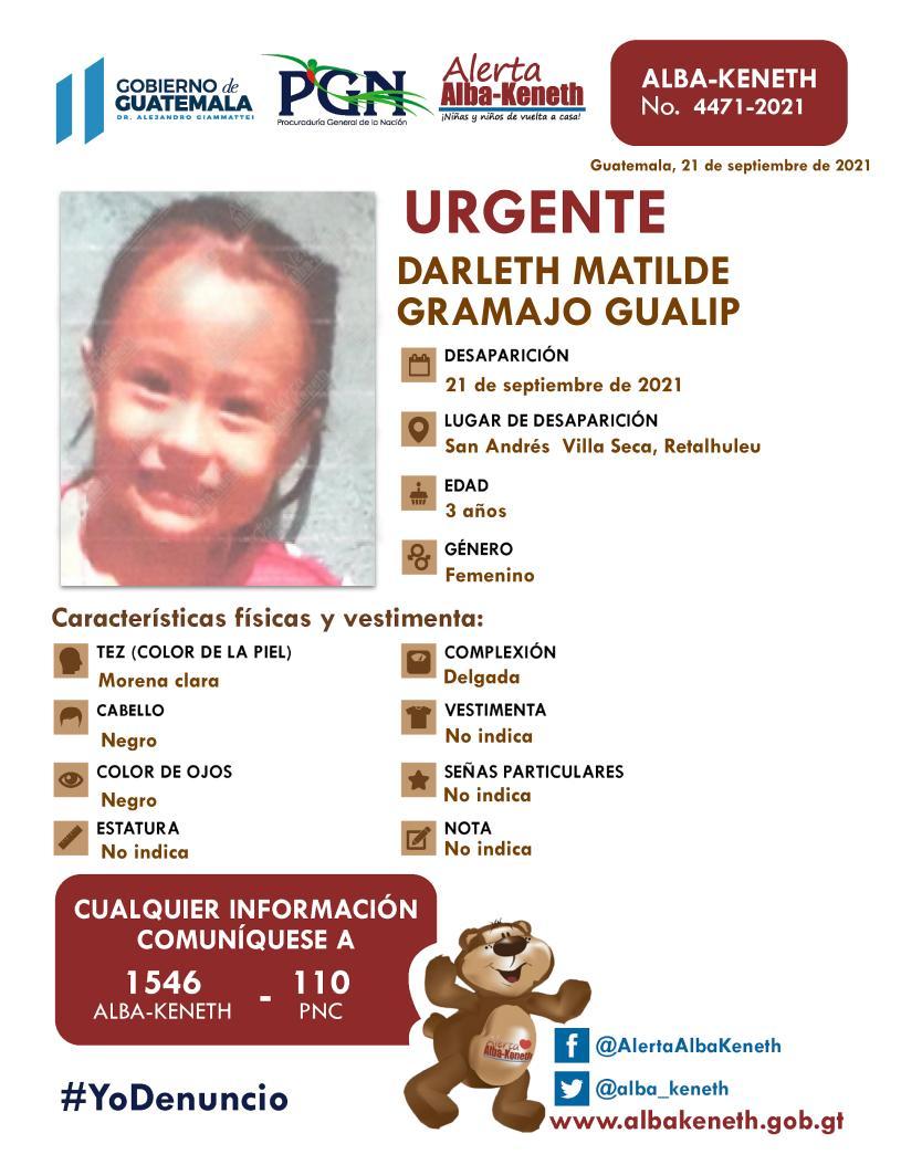 Darleth Matilde Gramayo Gualip