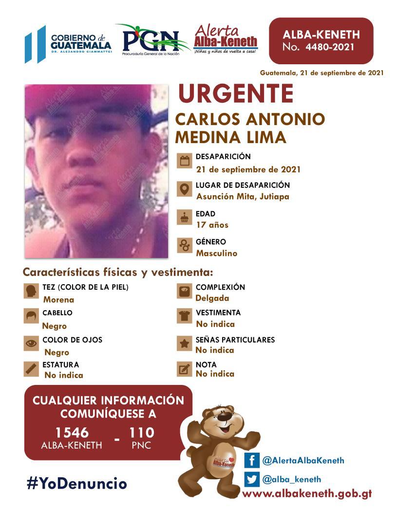 Carlos Antonio Medina Lima
