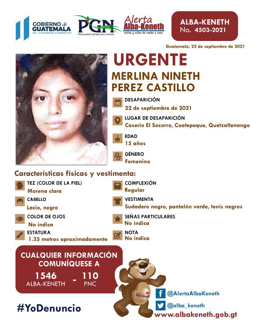 Merlina Nineth Perez Castillo