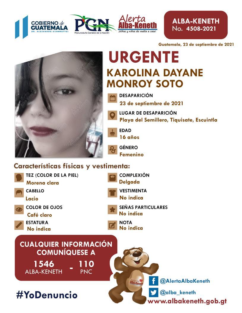 Karolina Dayana Monroy Soto