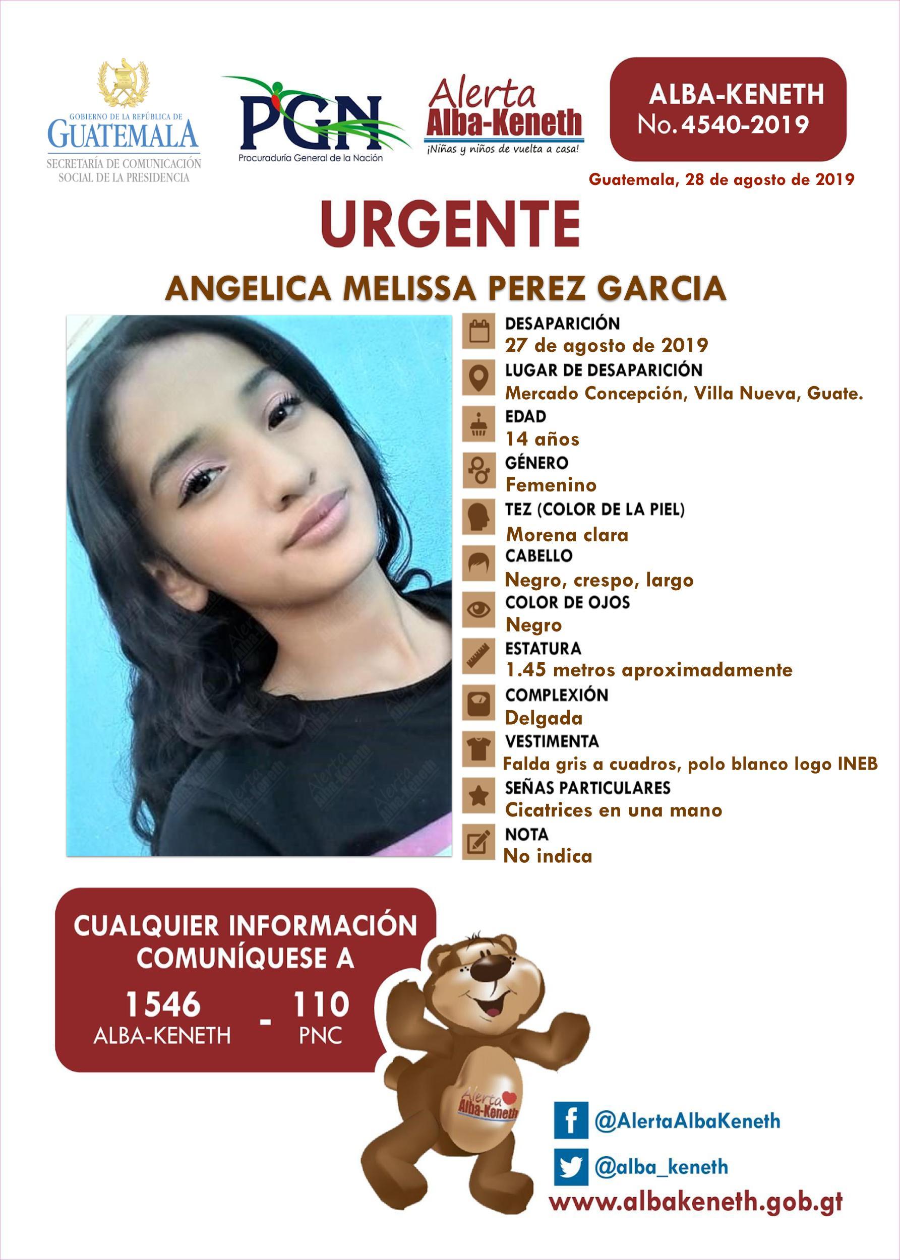 Angelica Melissa Perez Garcia