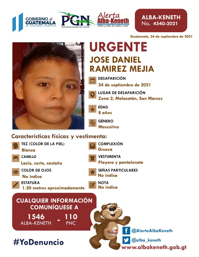 Jose Daniel Ramirez Mejia