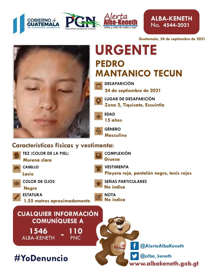 Pedro Mantanico Tecun