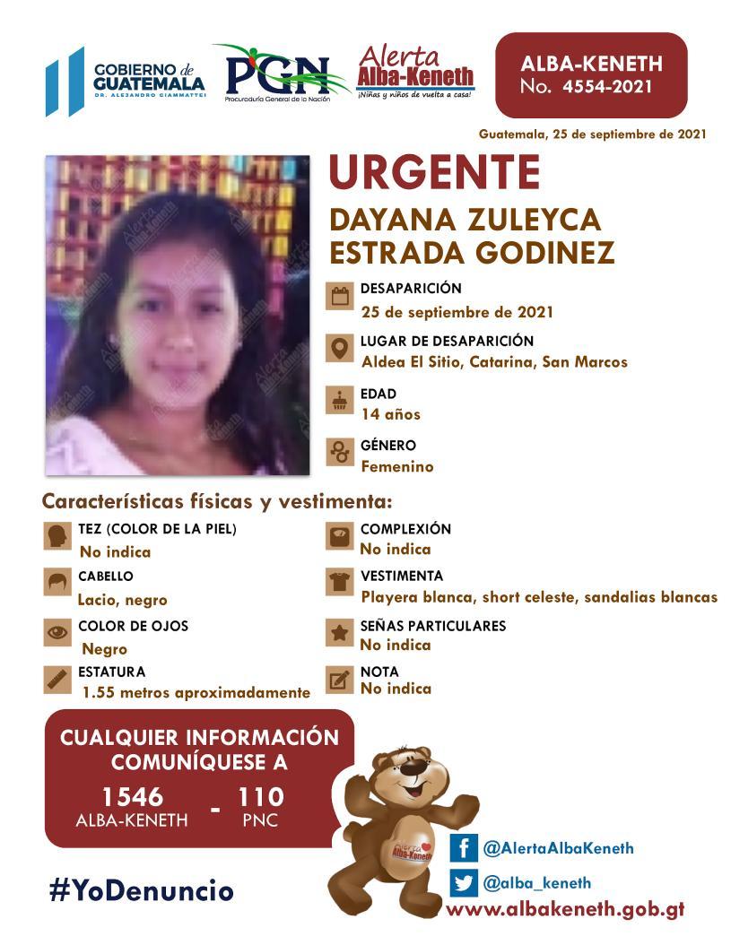 Dayana Zuleyca Estrada Godinez
