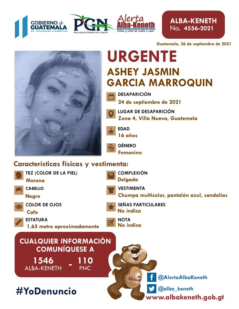 Ashey Jasmin Garcia Marroquin