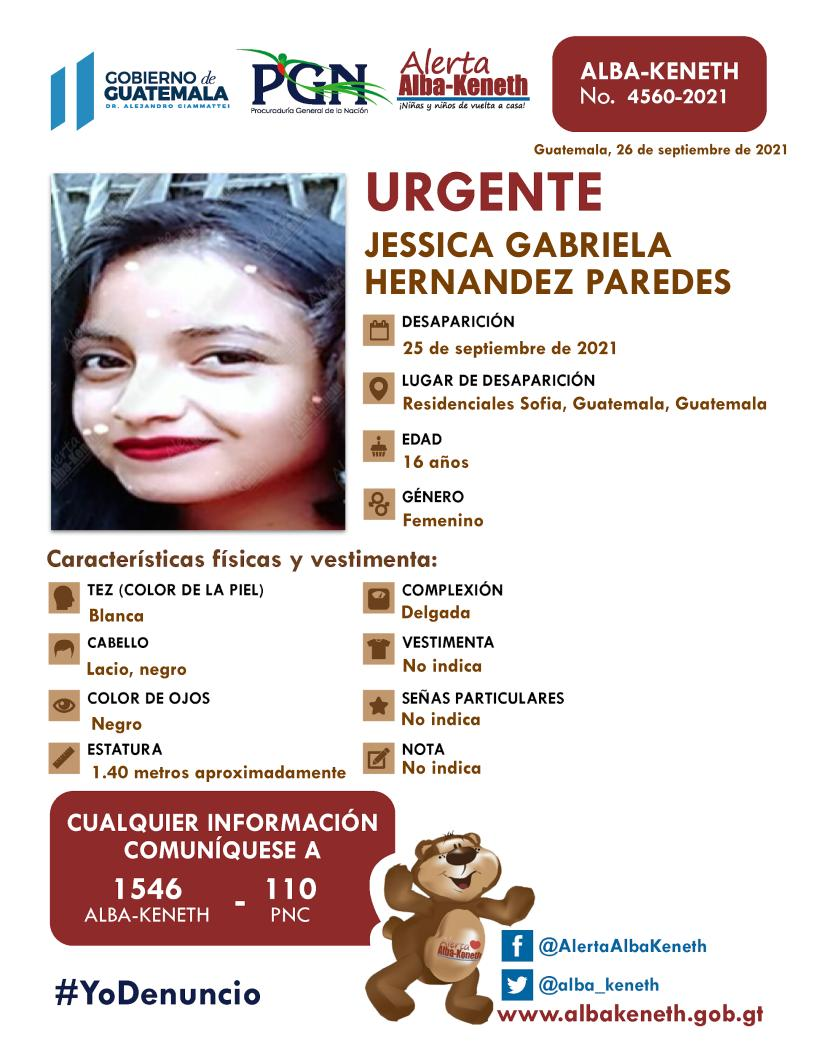 Jessica Gabriela Hernandez Paredes
