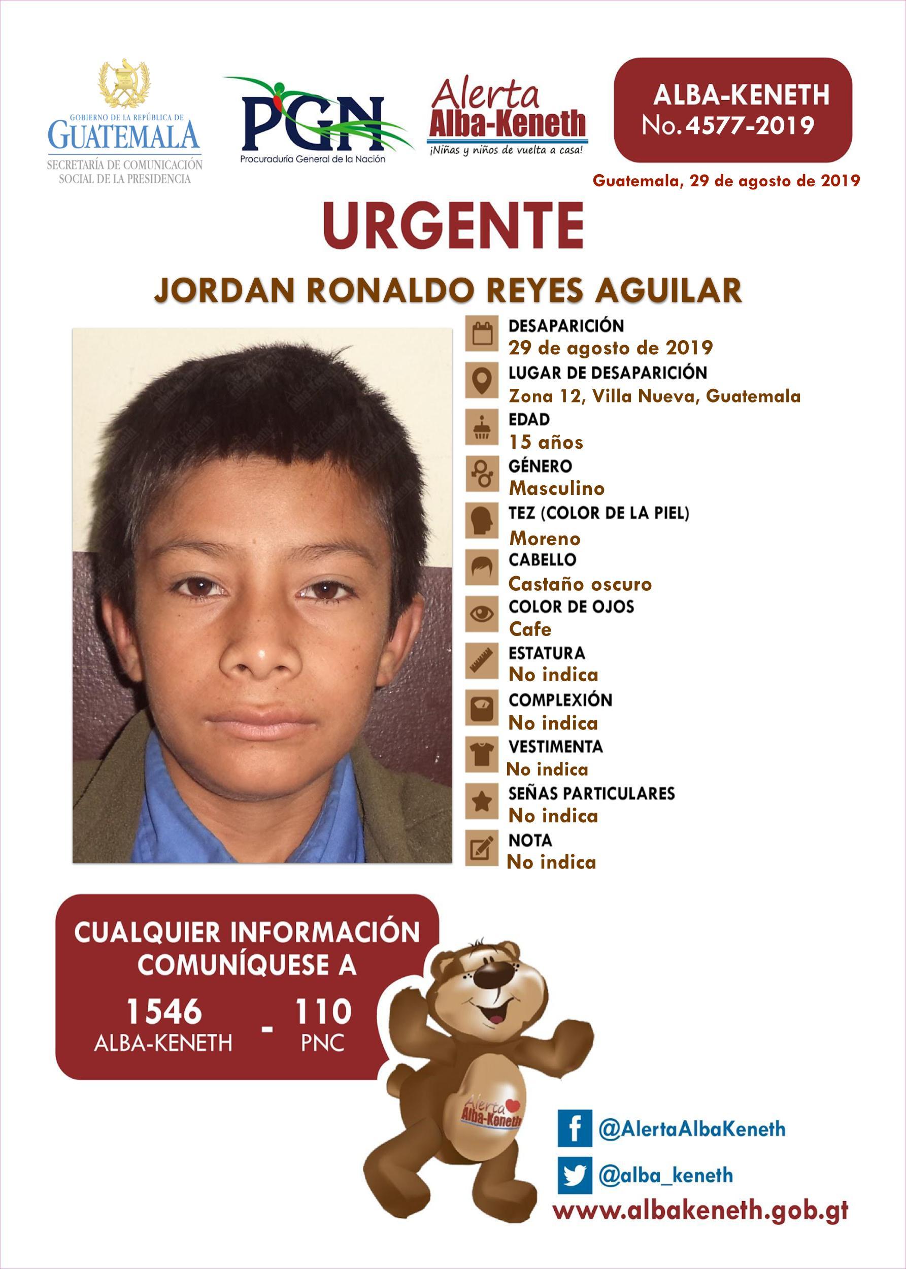 Jordan Ronaldo Reyes Aguilar