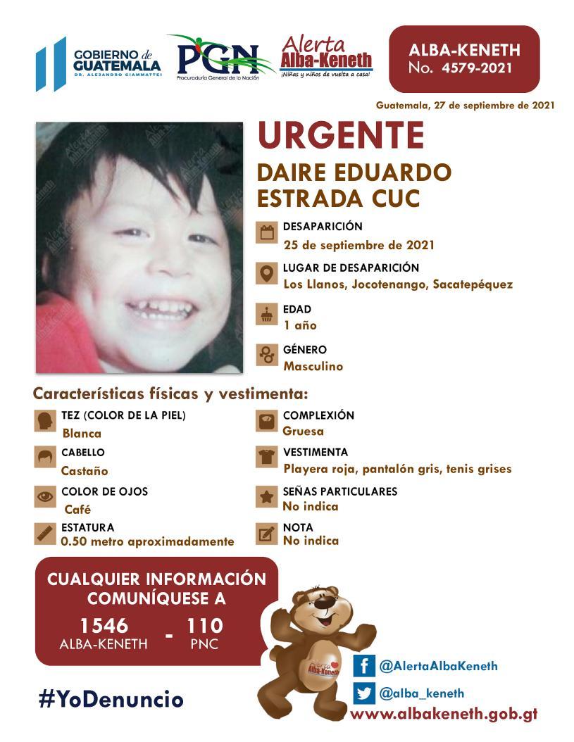 Daire Eduardo Estrada Cuc