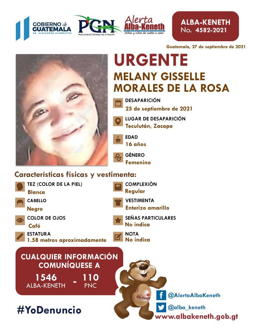 Melany Gisselle Morales De La Rosa